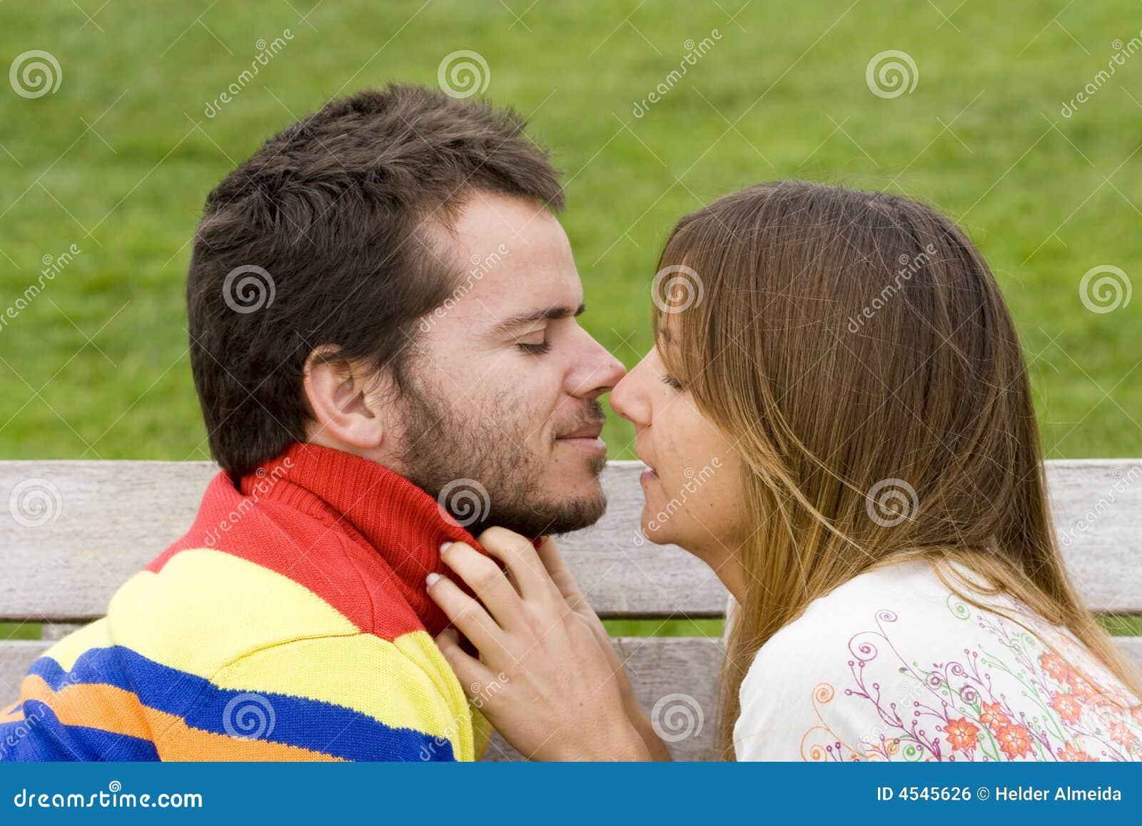 Flirten erster kuss