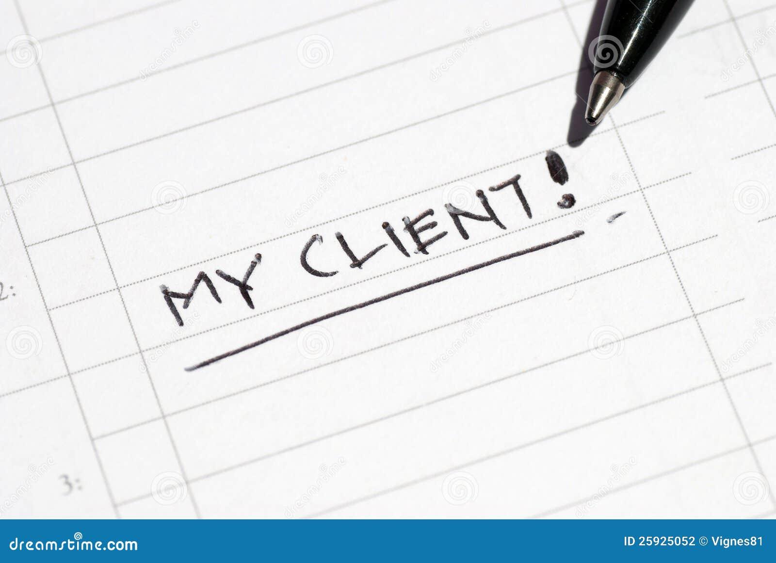 Mein Klient