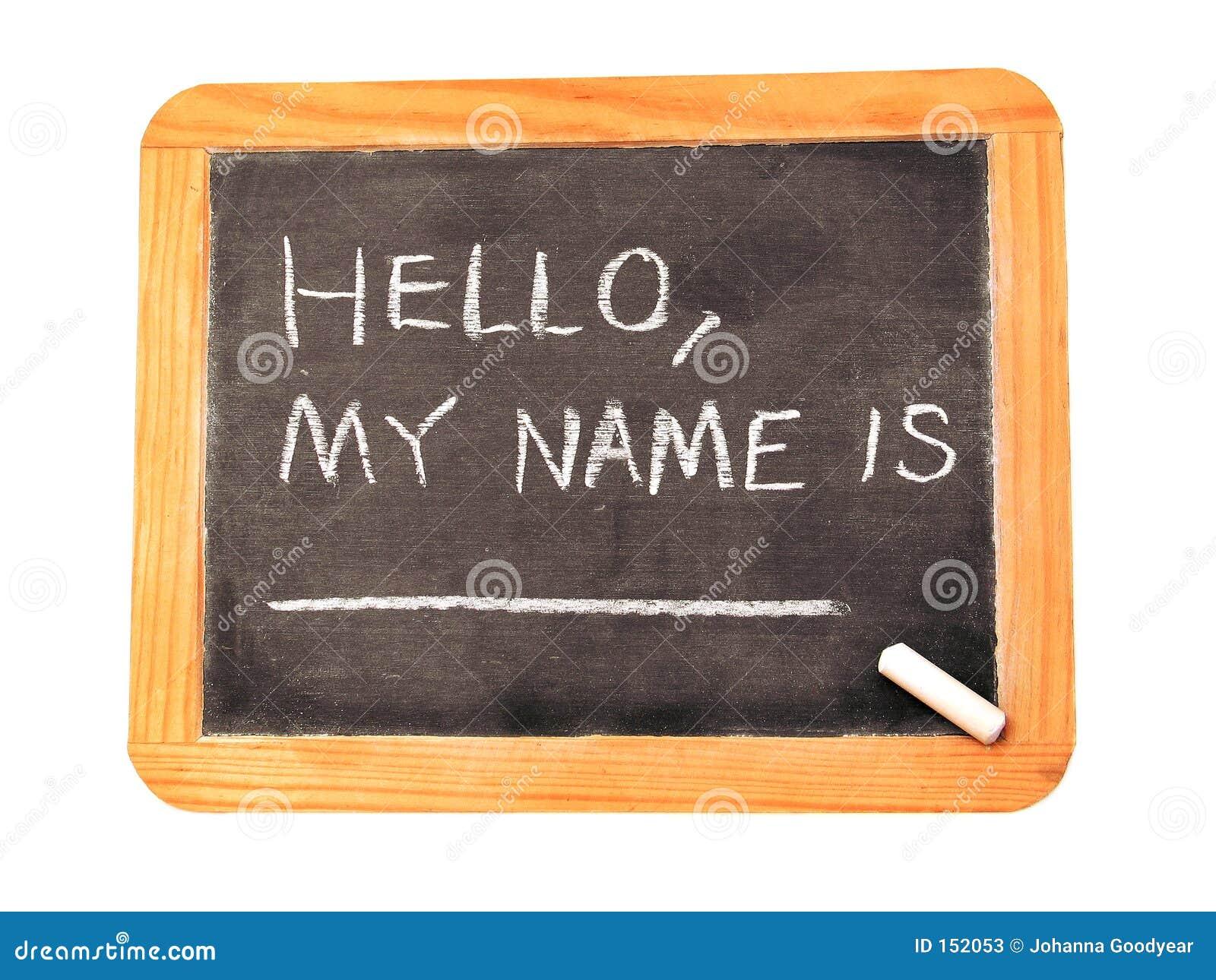 Mein Name ist. stockbild. Bild von mathe, mathematik