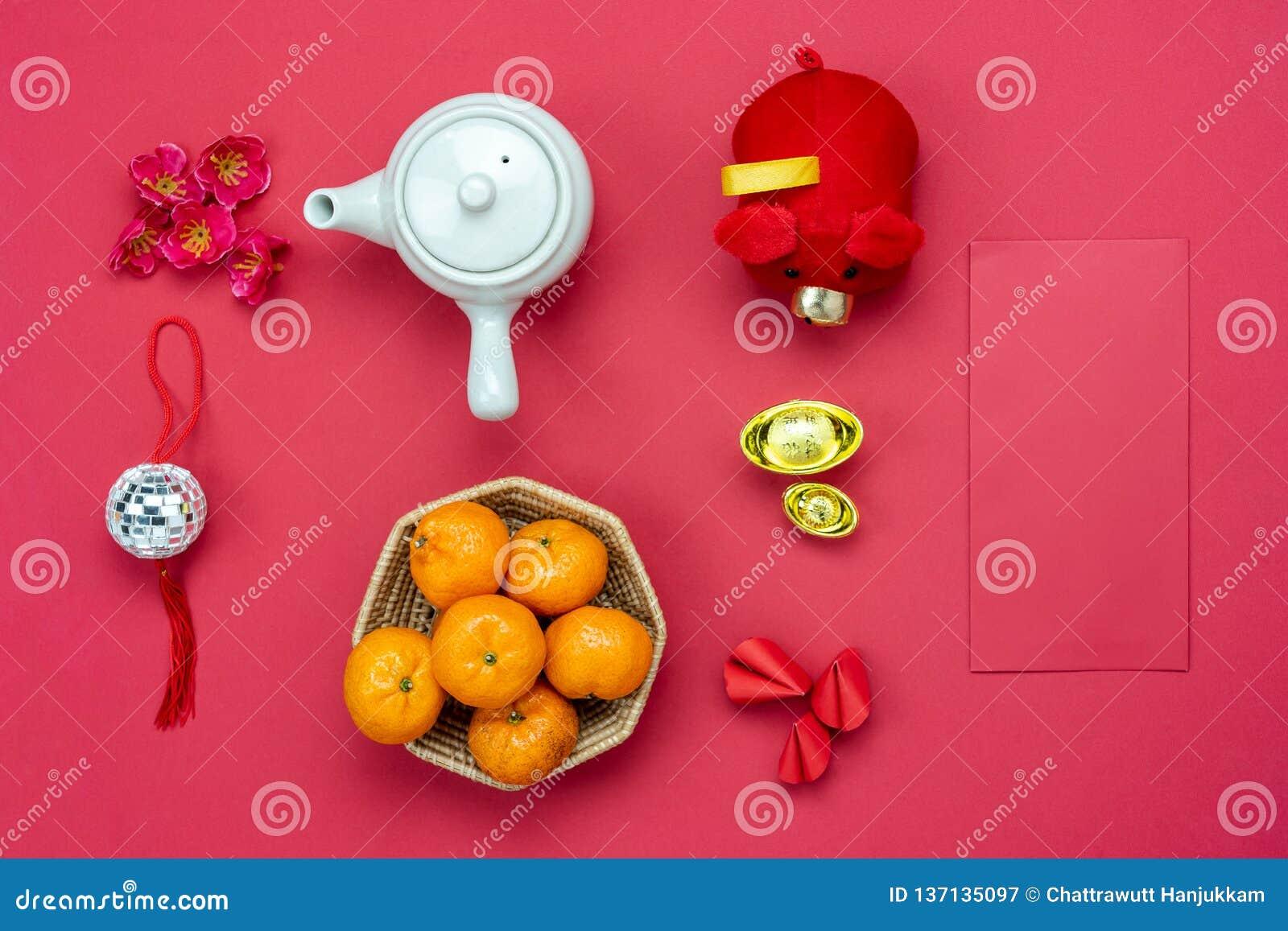 Meio da língua chinesa rico ou rico e feliz Ano novo lunar de opinião de tampo da mesa & ano novo chinês Brinquedo colocado liso