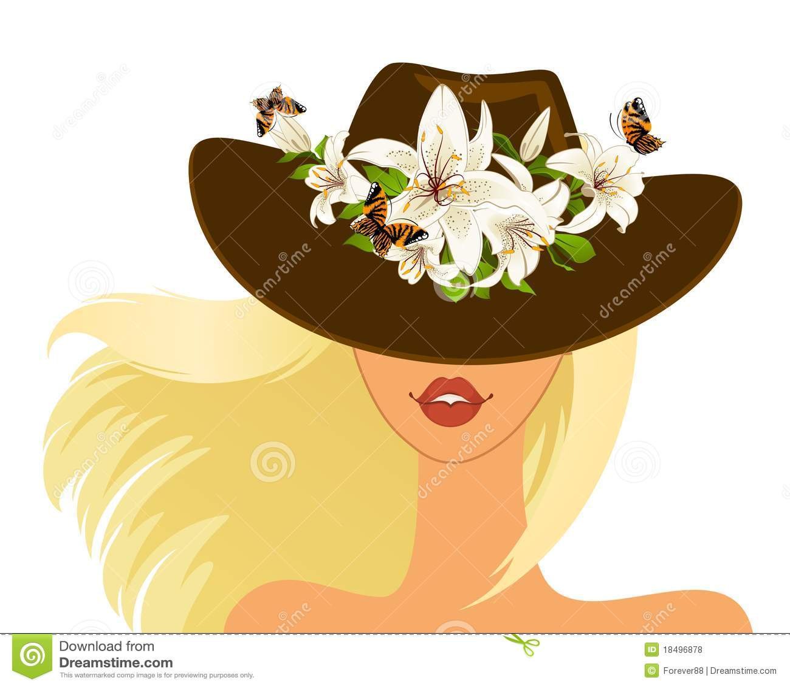Meisje in hoed