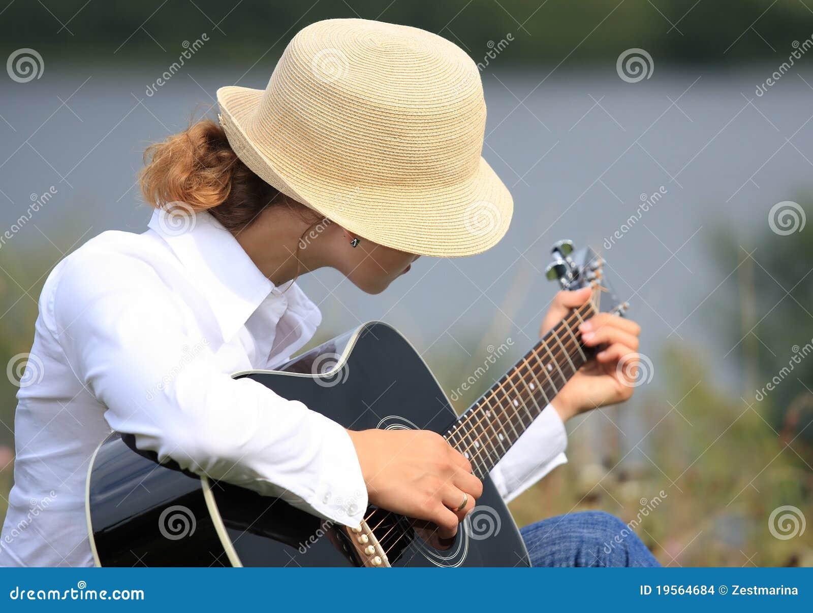Meisje met de gitaar