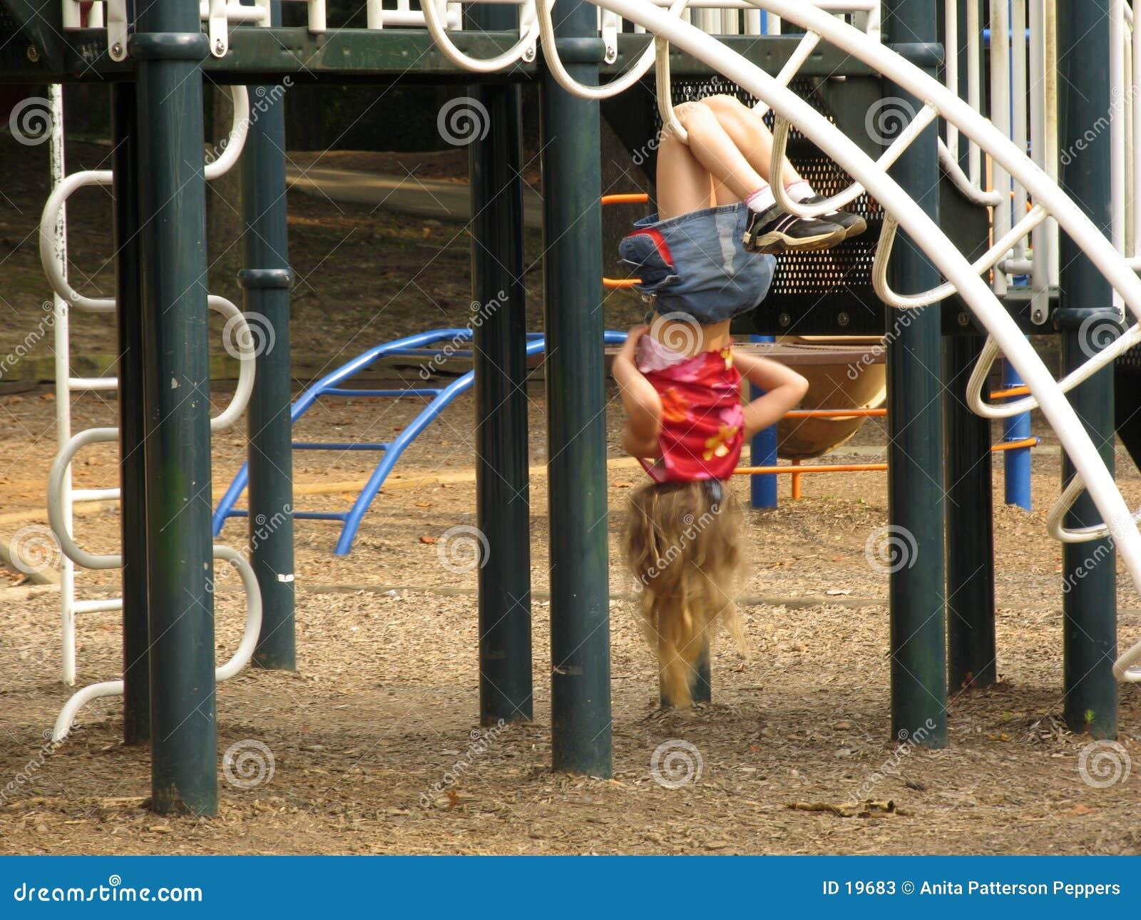 Meisje op de Speelplaats