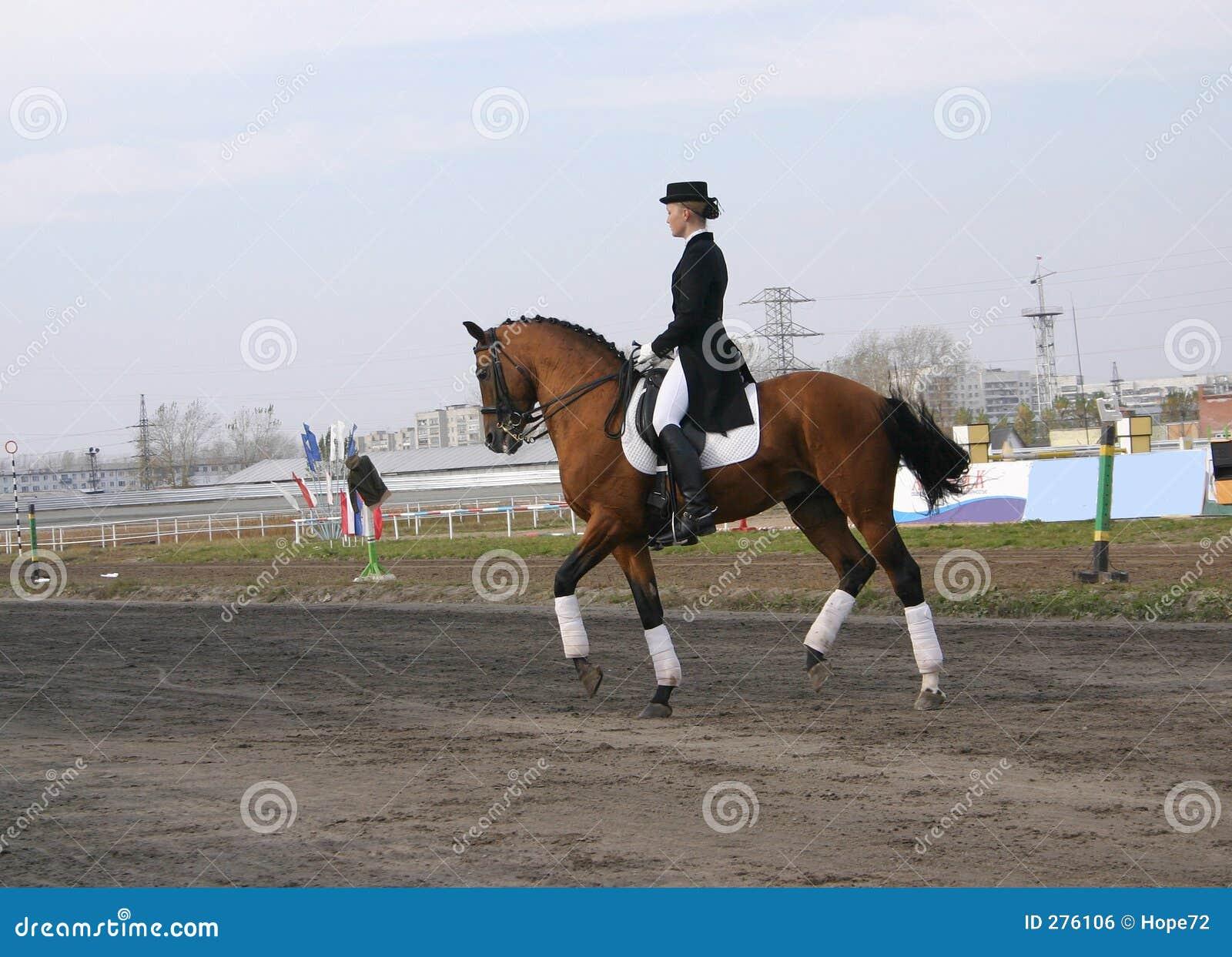 Meisje op een paard