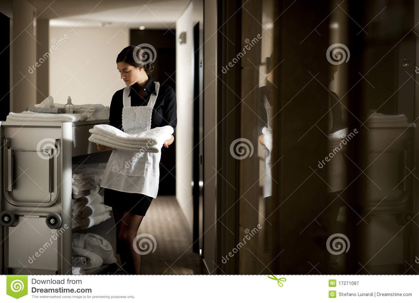 Meisje op het Werk