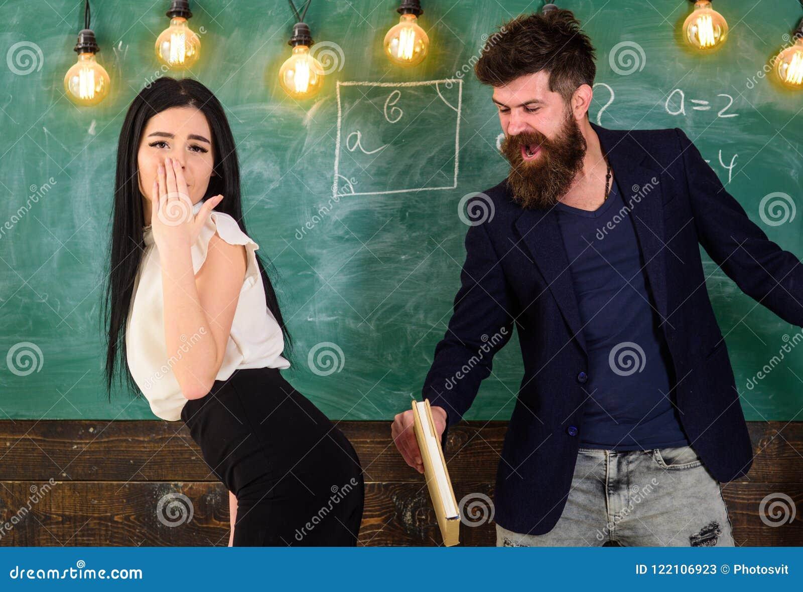 Gestraft door haar leraar