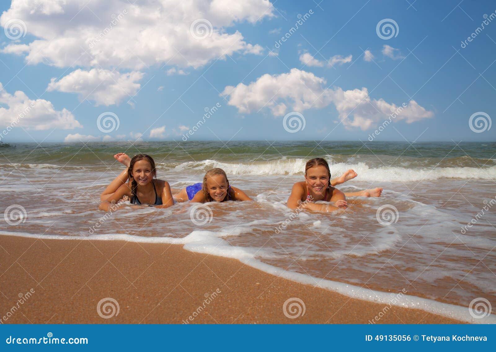 Trio meisje