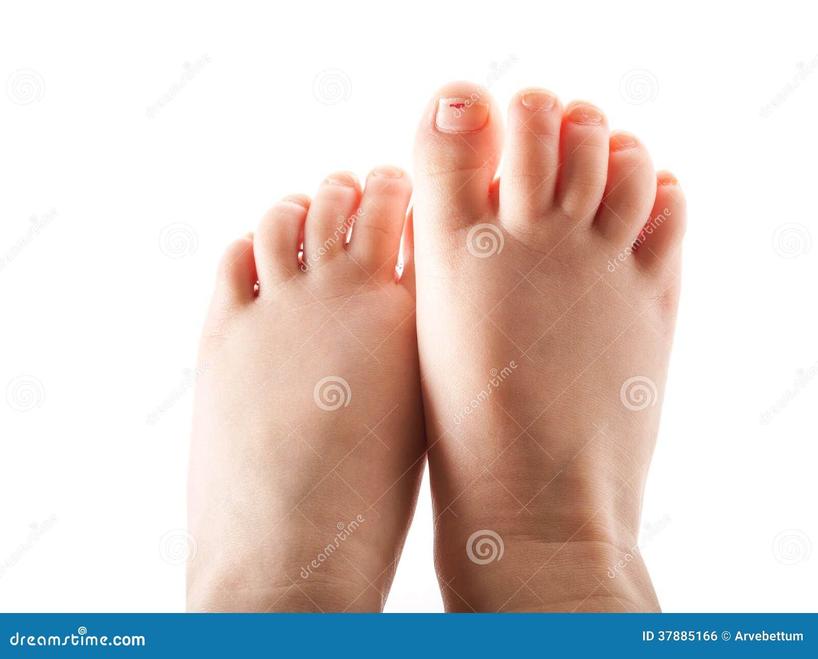 Meisje, voeten