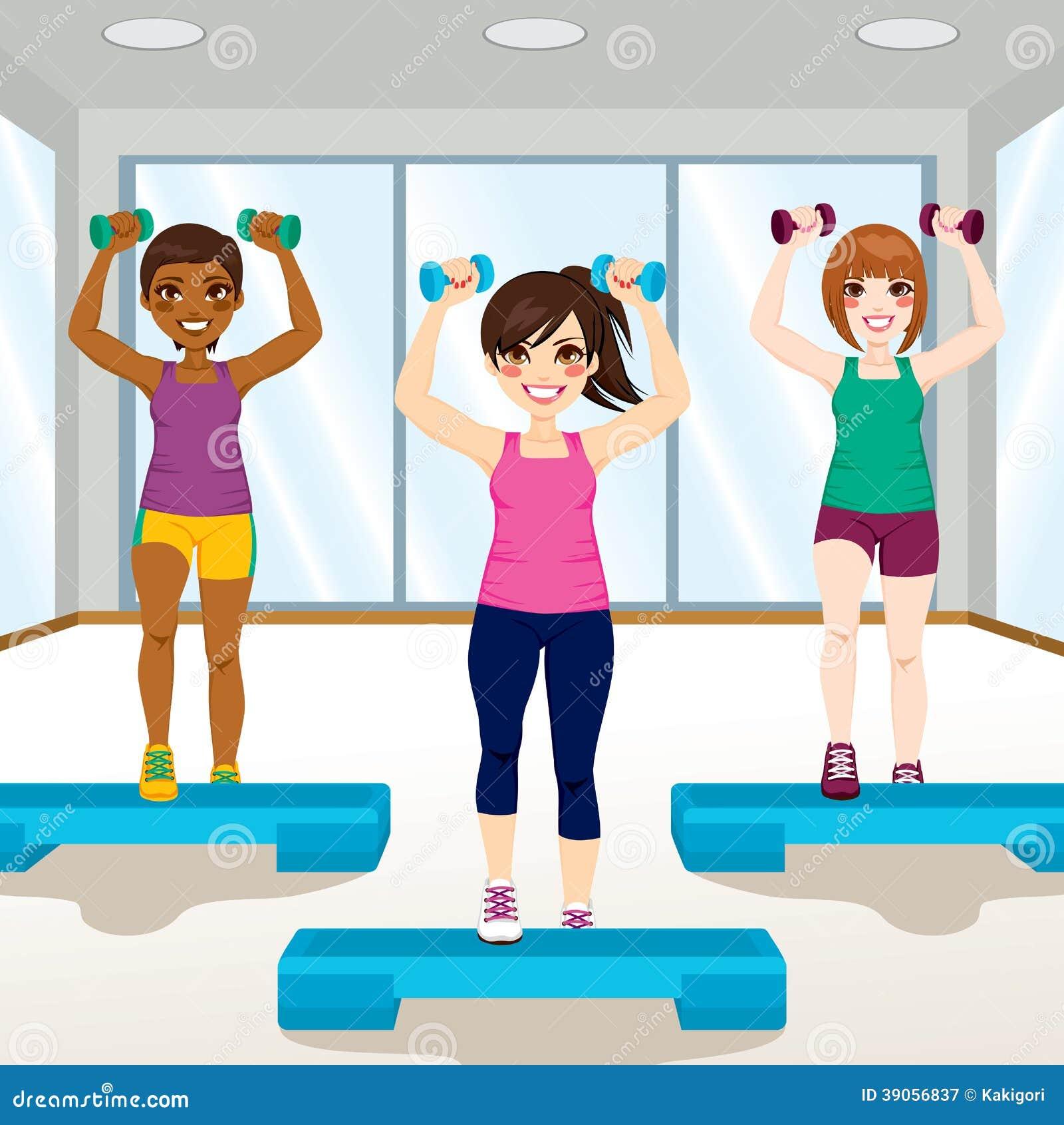 Meisjes bij Gymnastiek