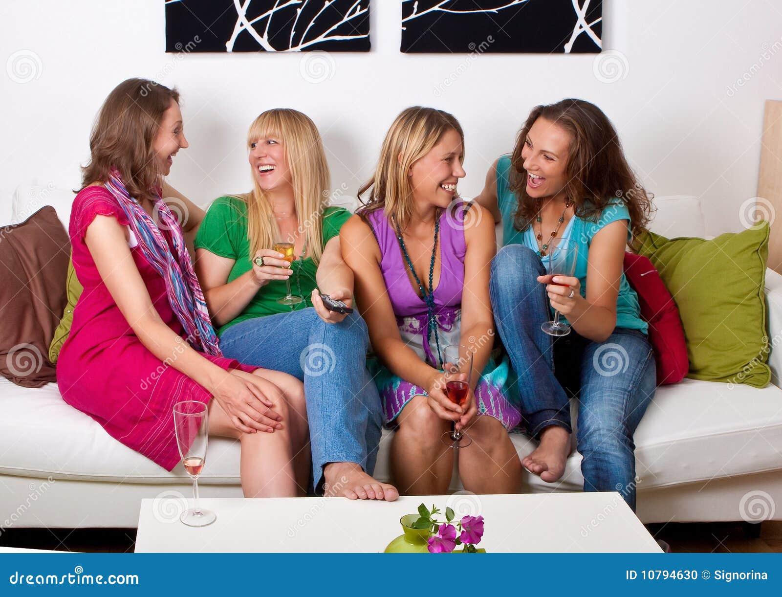 Meisjes op laag 7