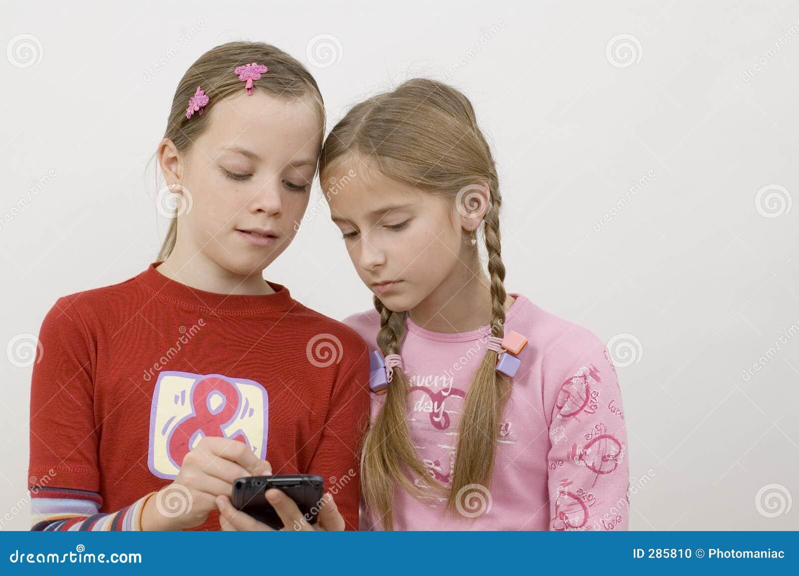Meisjes/palmtop