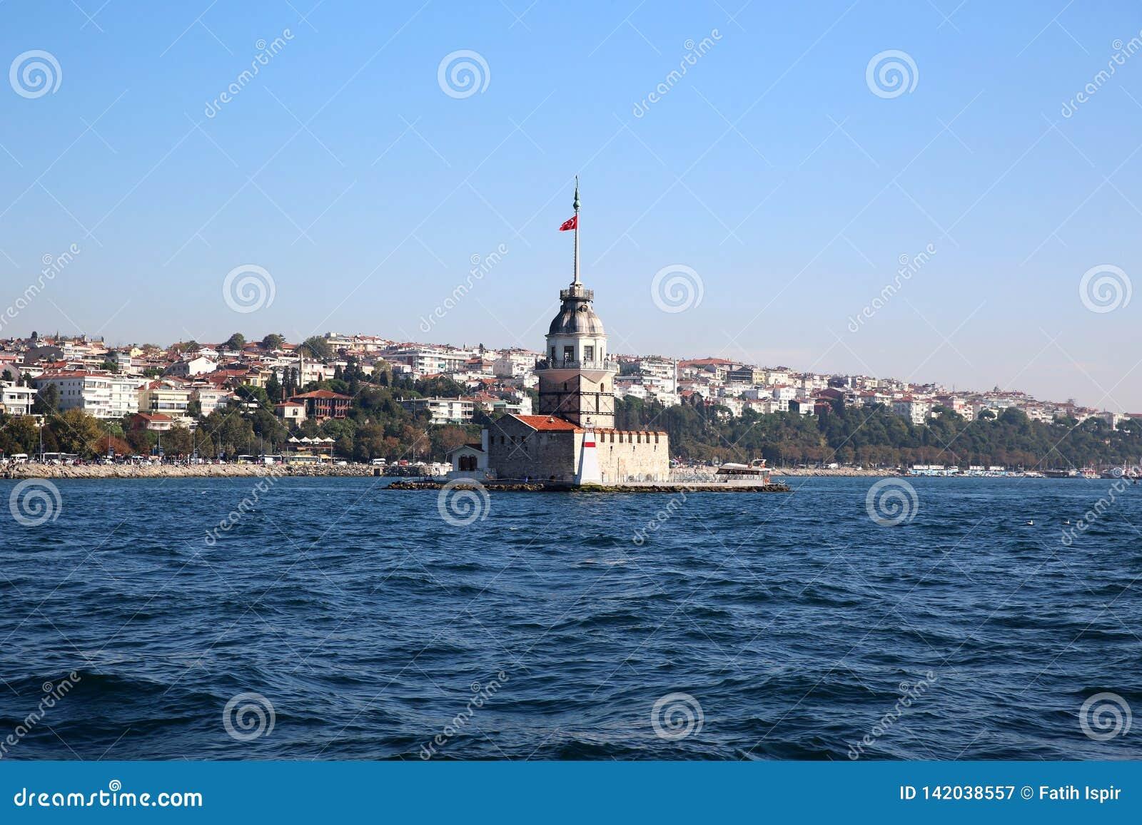 Meisjetoren in Istanboel TURKIJE