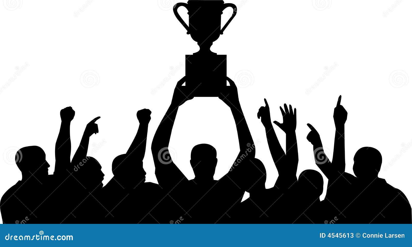 Meisterschaft-Team-Feier