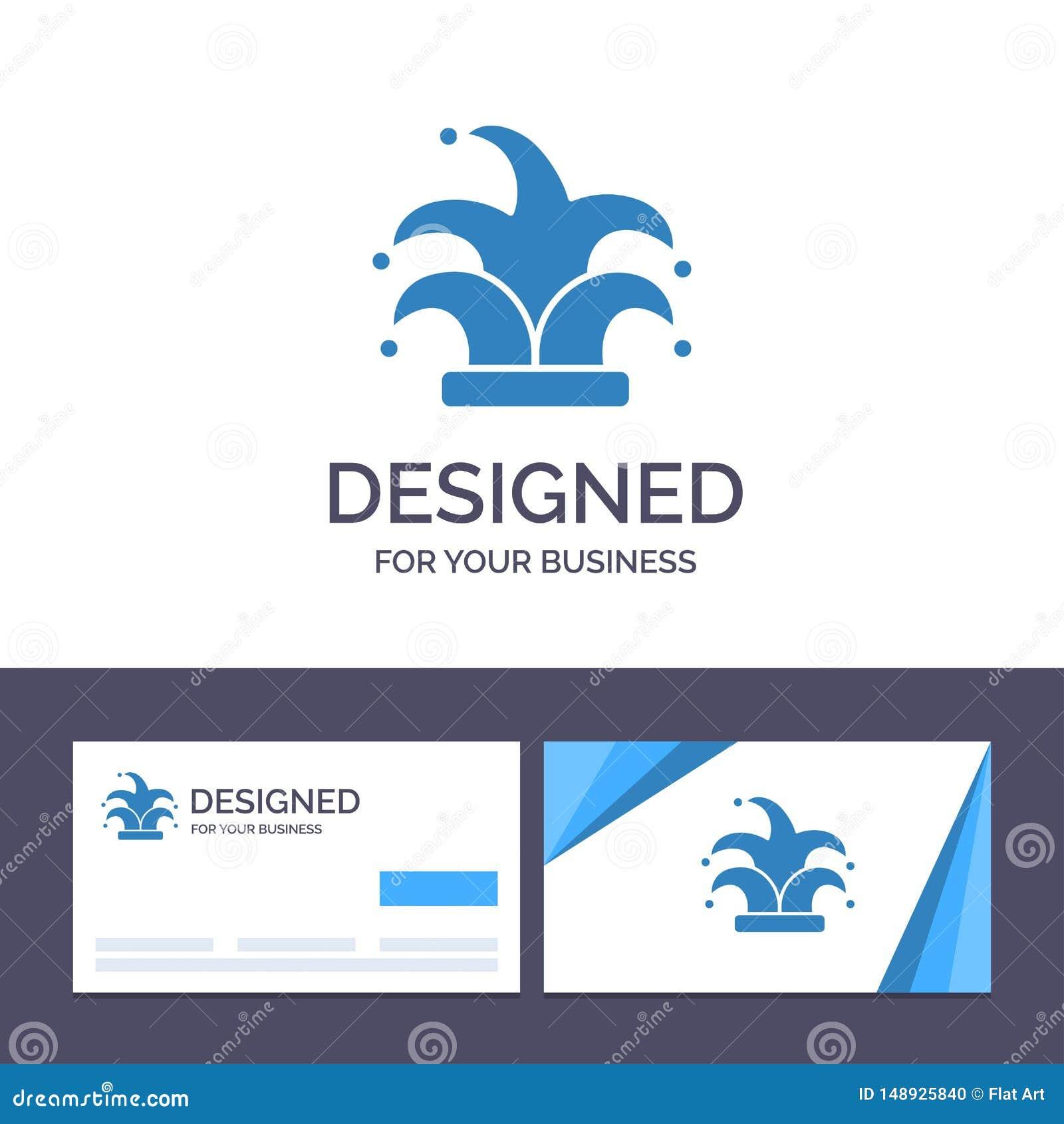 Mejor de visita de la plantilla creativa de la tarjeta y del logotipo, corona, rey, ejemplo del vector del madrigal