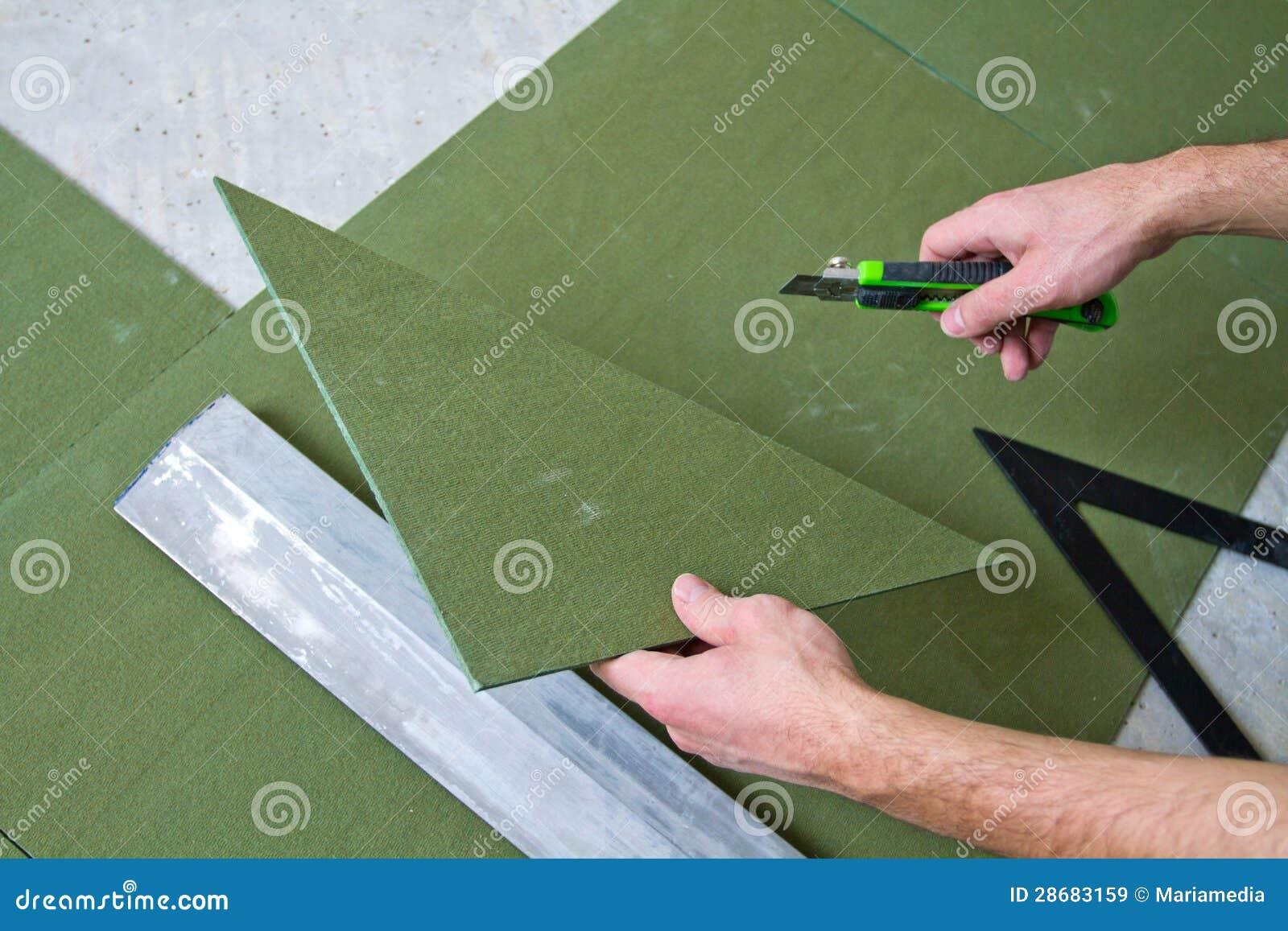 Mejoras para el hogar - colocación del suelo laminado