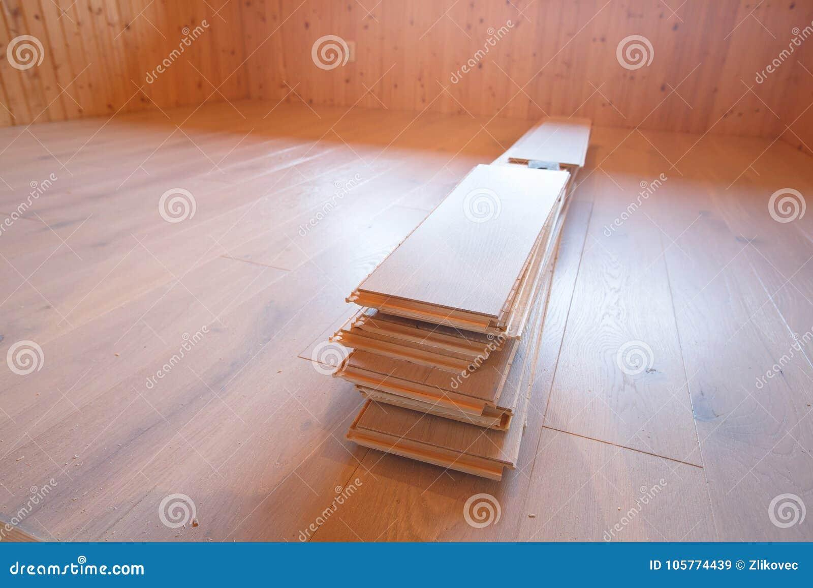 Mejoras para el hogar, nuevo suelo del entarimado
