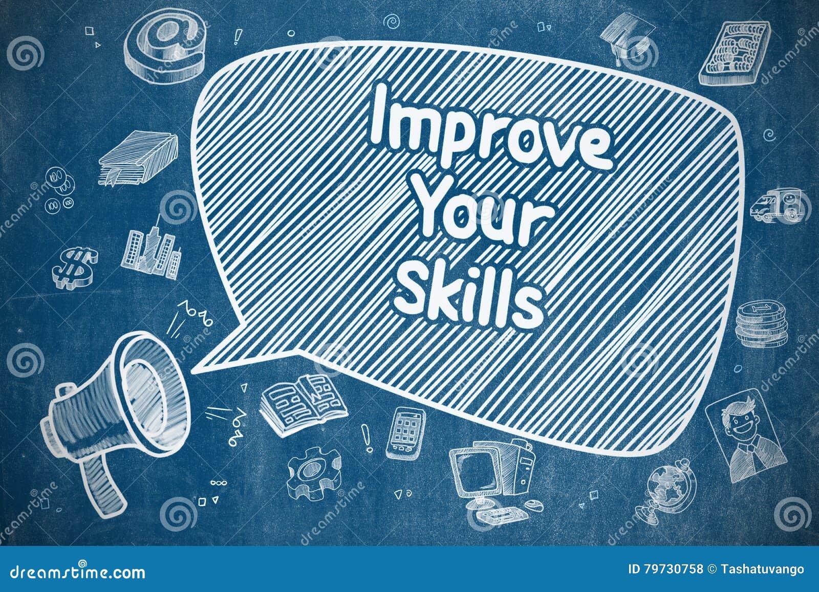 Mejore sus habilidades - concepto del negocio