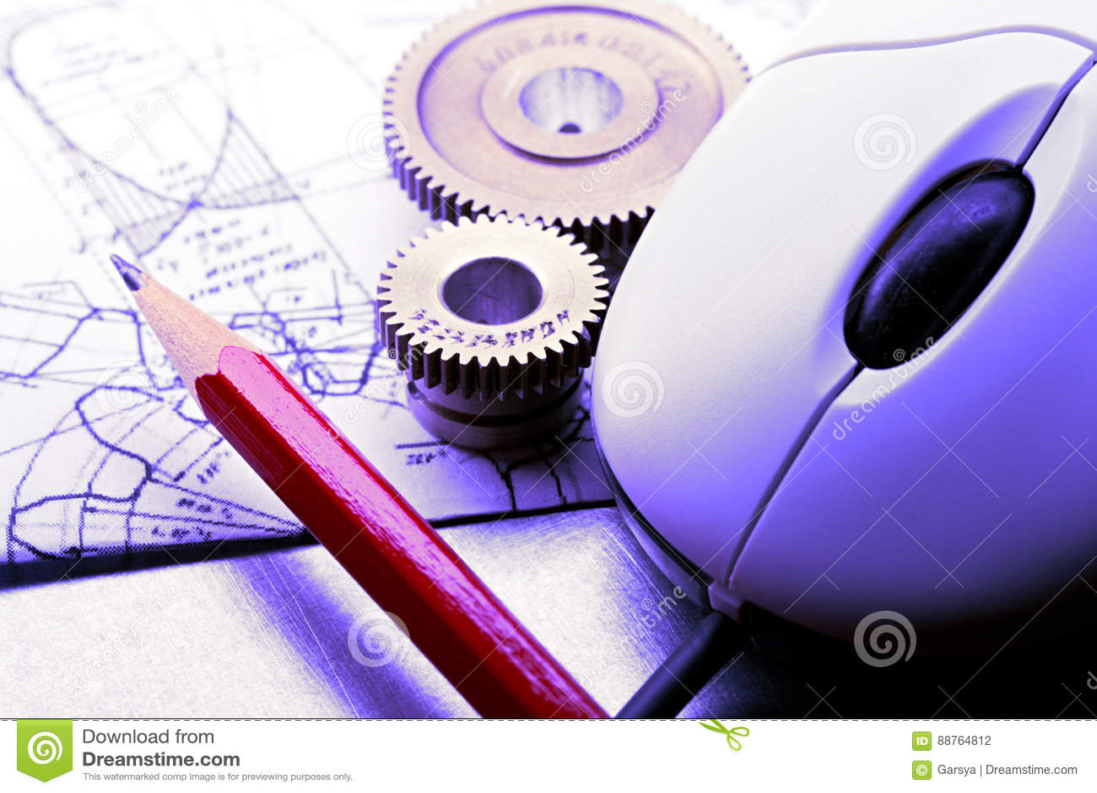 Mekaniska spärrhjular, skissning och mus
