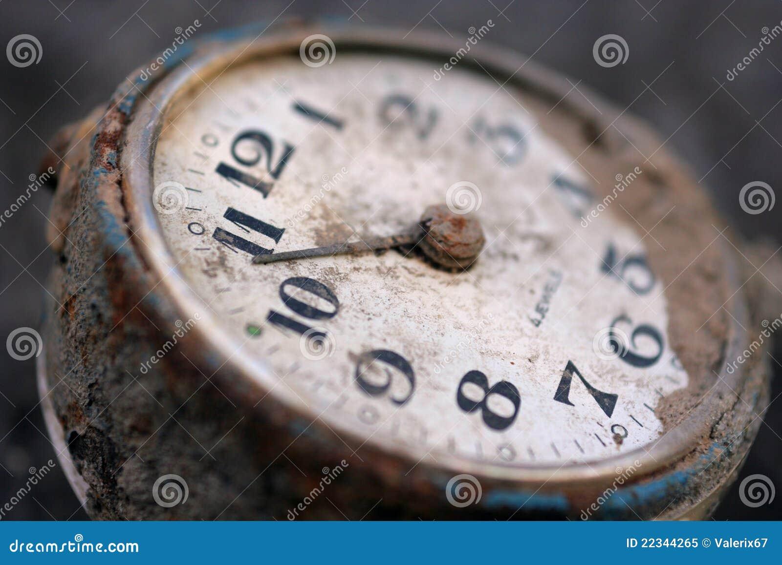 Mekaniskt gammalt för klocka