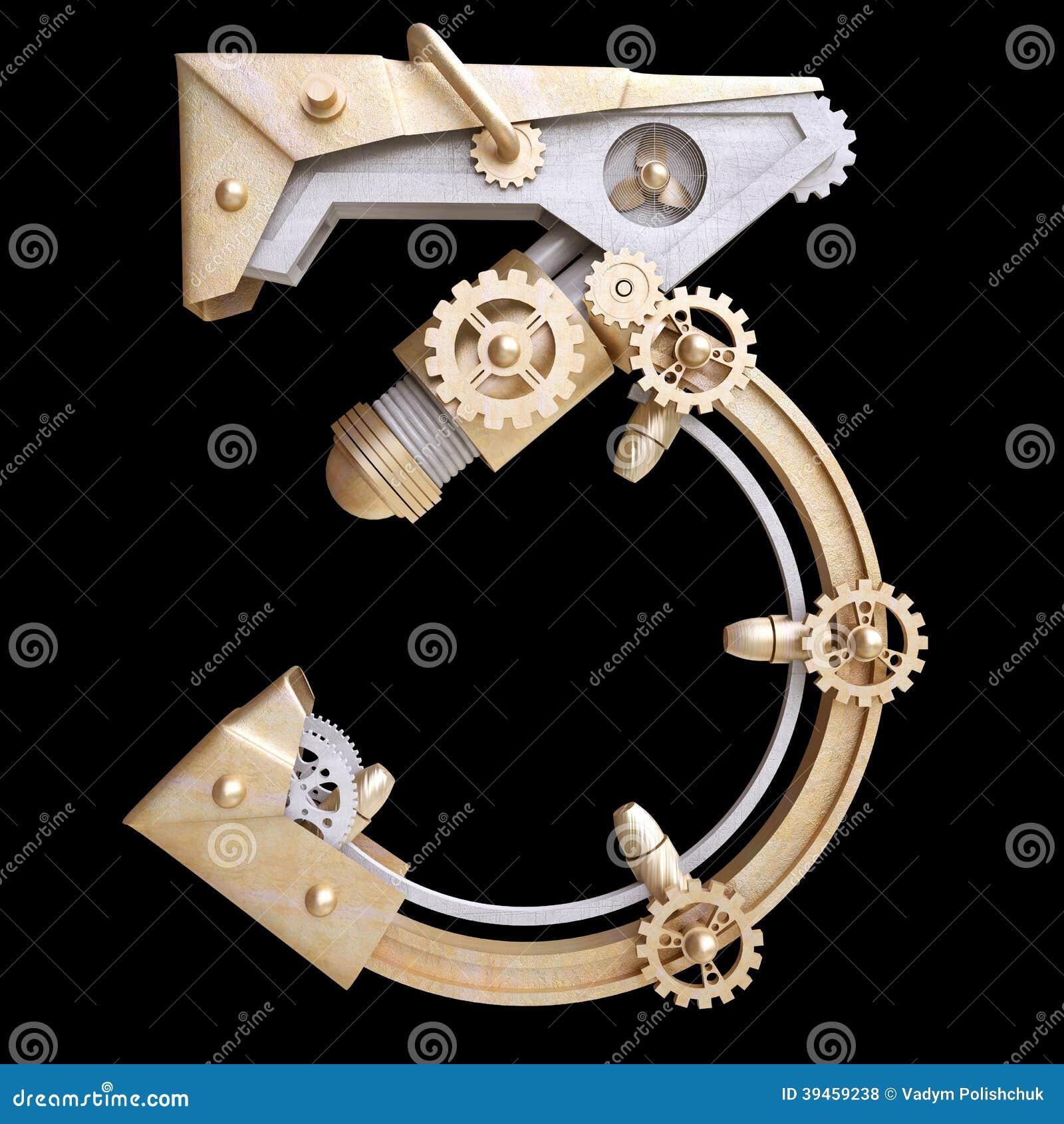Mekaniskt nummer för järn