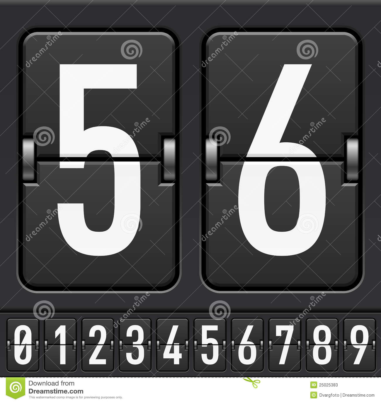Mekaniskt nummerfunktionskort