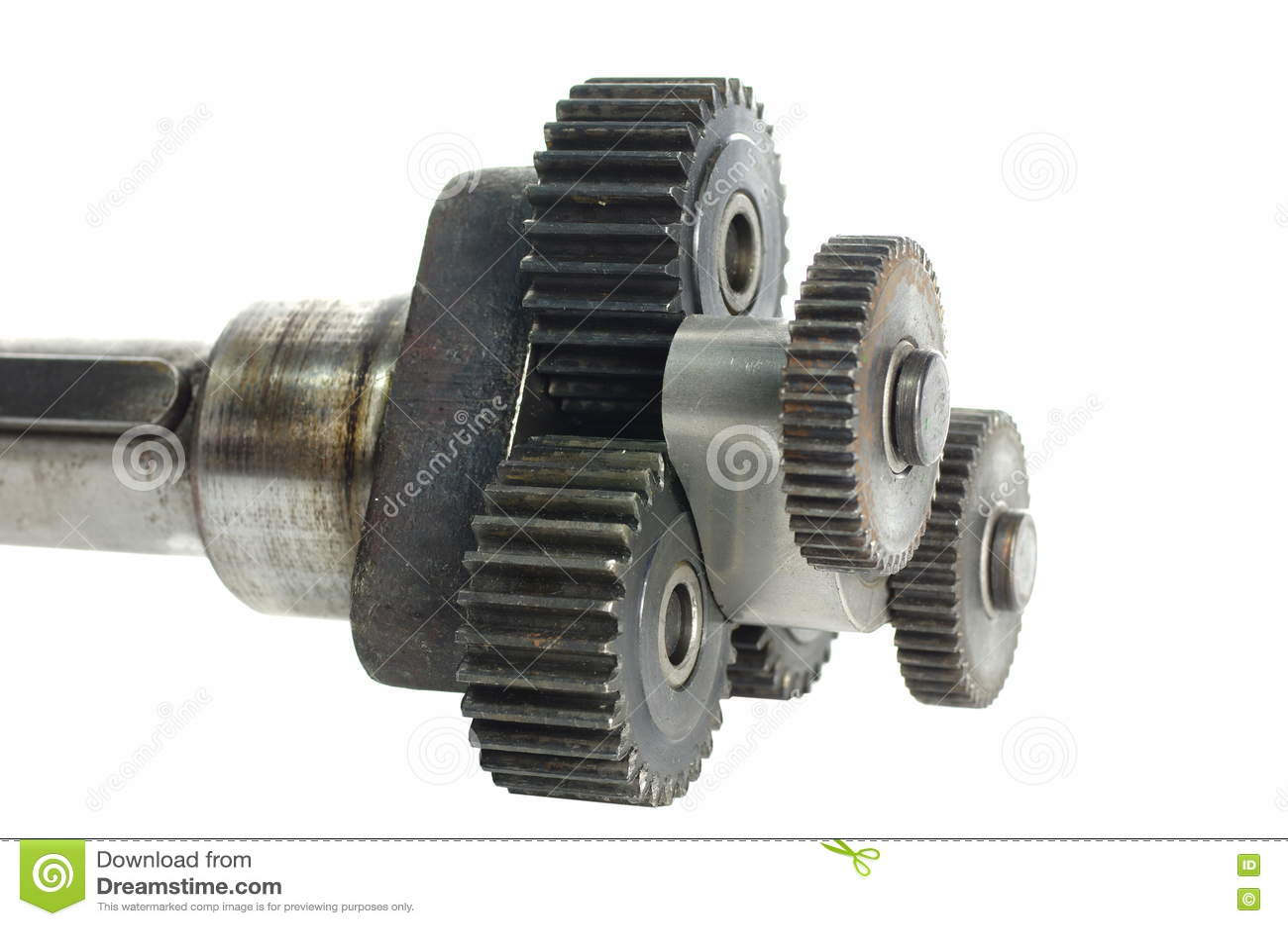Mekanism med cog-wheels