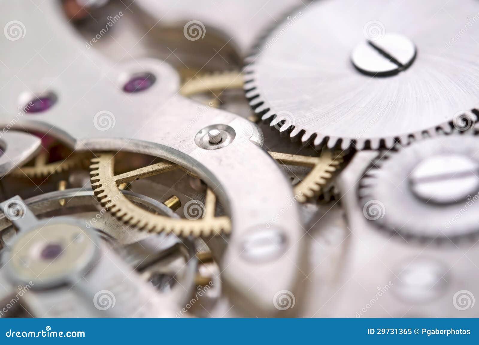 Nära övre för gammal klocka