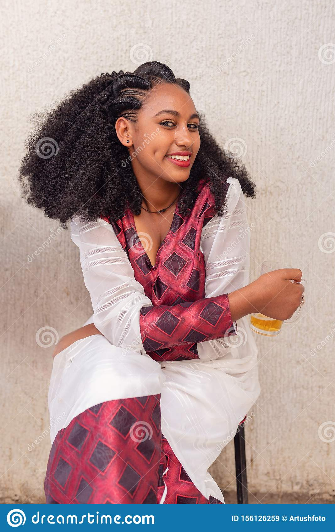 Beauty Woman With Traditional Hairstyle Ethiopia Editorial Stock Image Image Of Human Beautiful 156126259