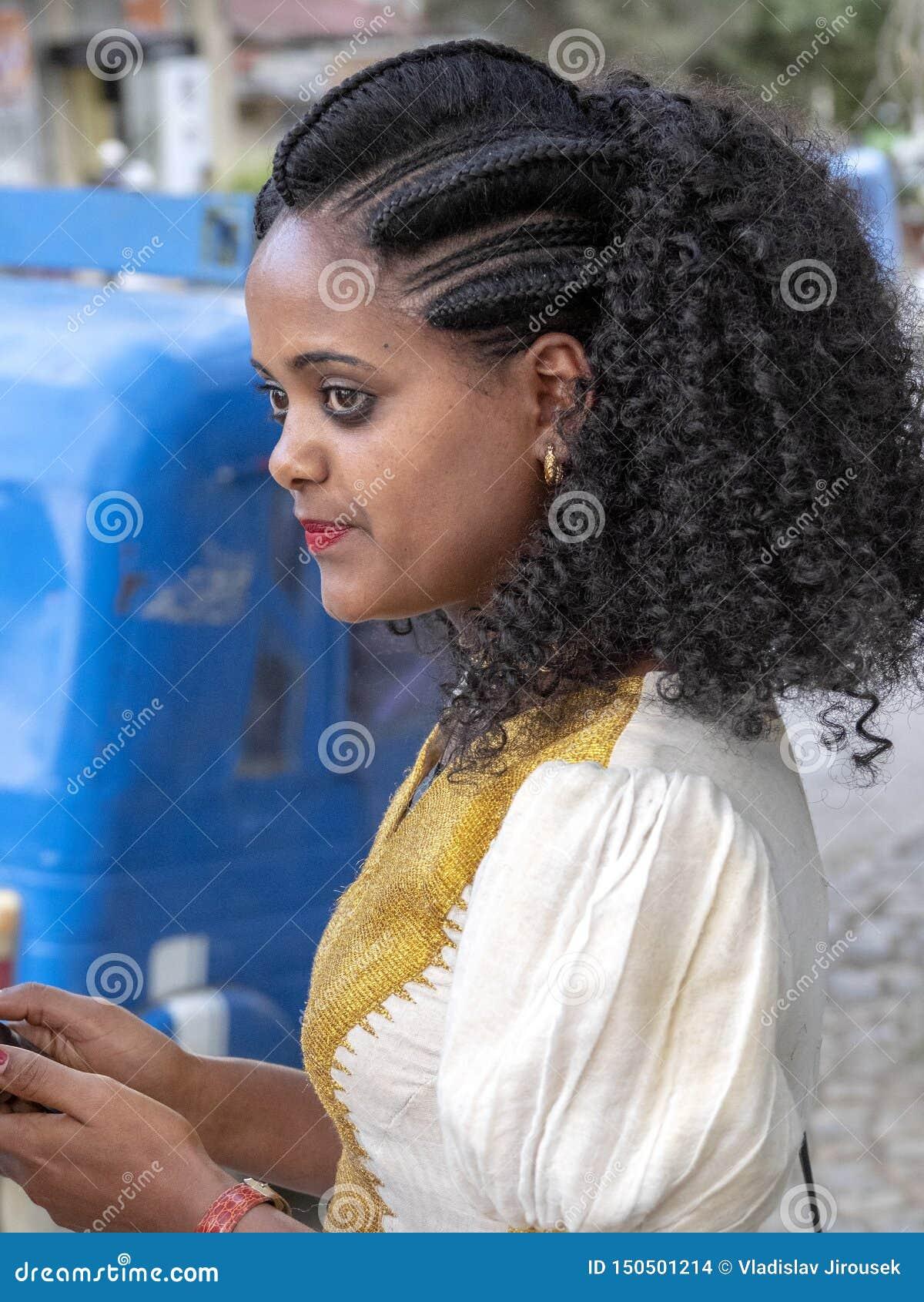 Ethiopian girl beauty