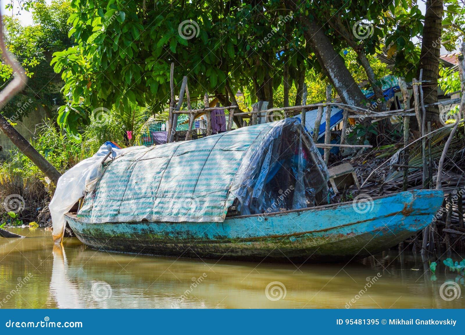 Mekong delta w Wietnam