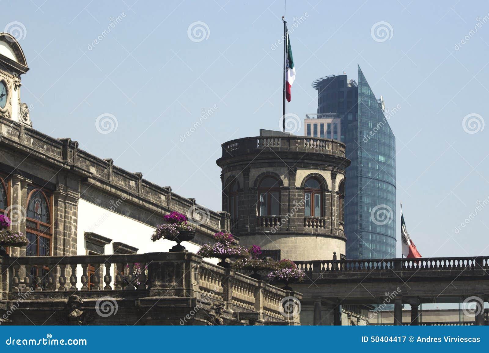 Meksyk architektury kontrast
