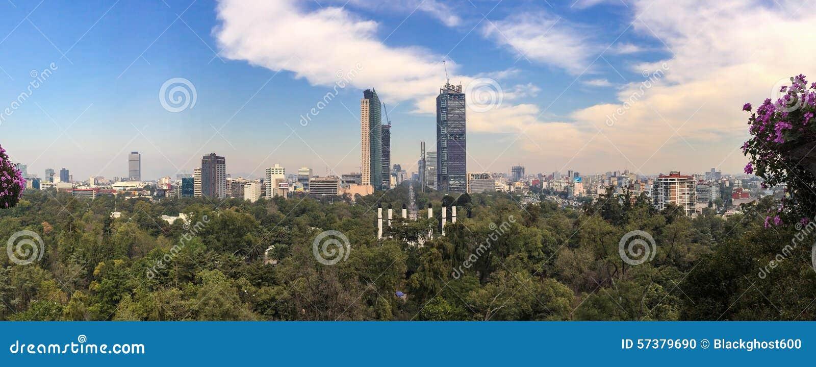 Meksyk Reforma panorama