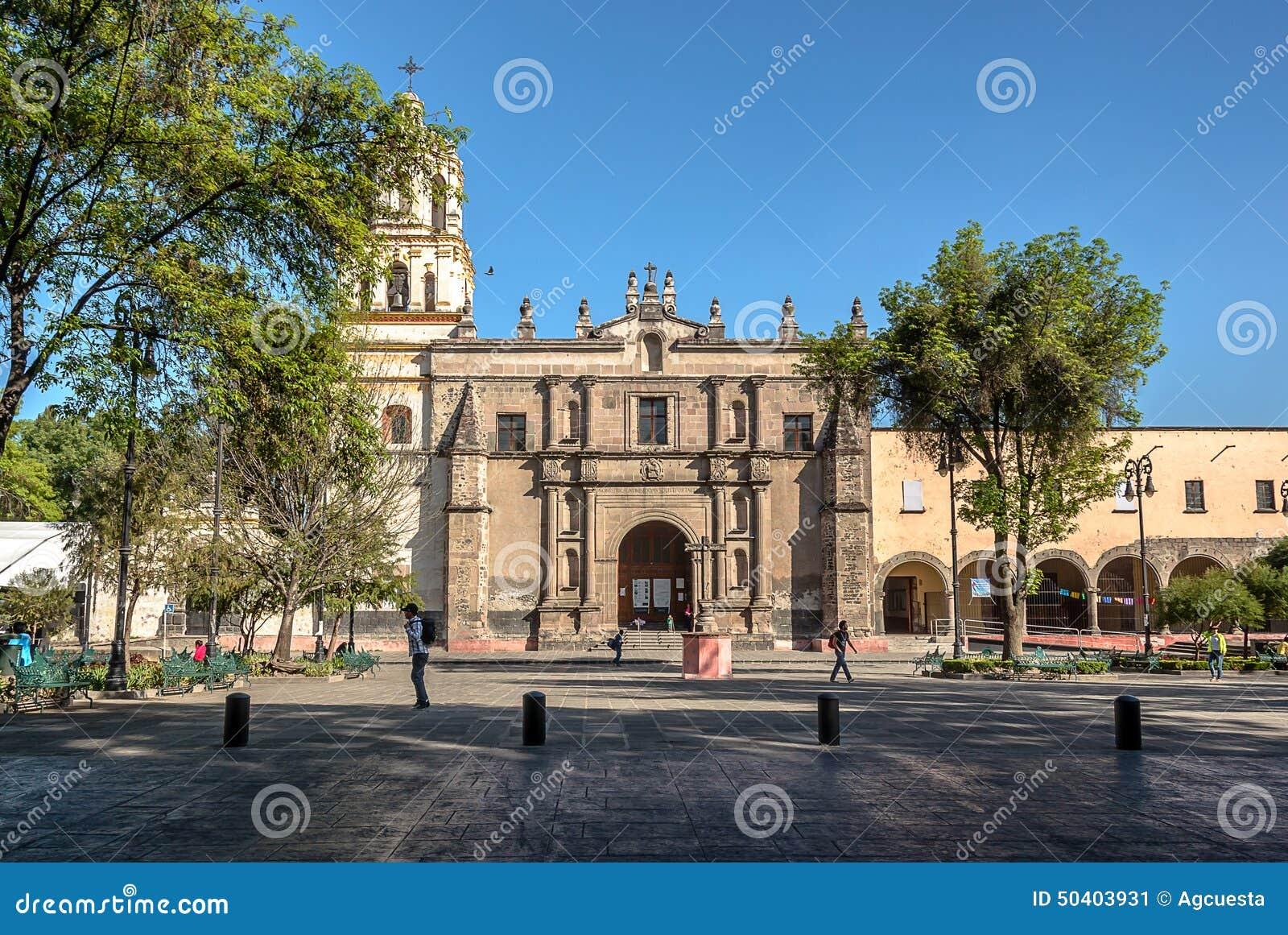 Meksyk, San Juan Bautista parafia w Coyoacan, Meksyk