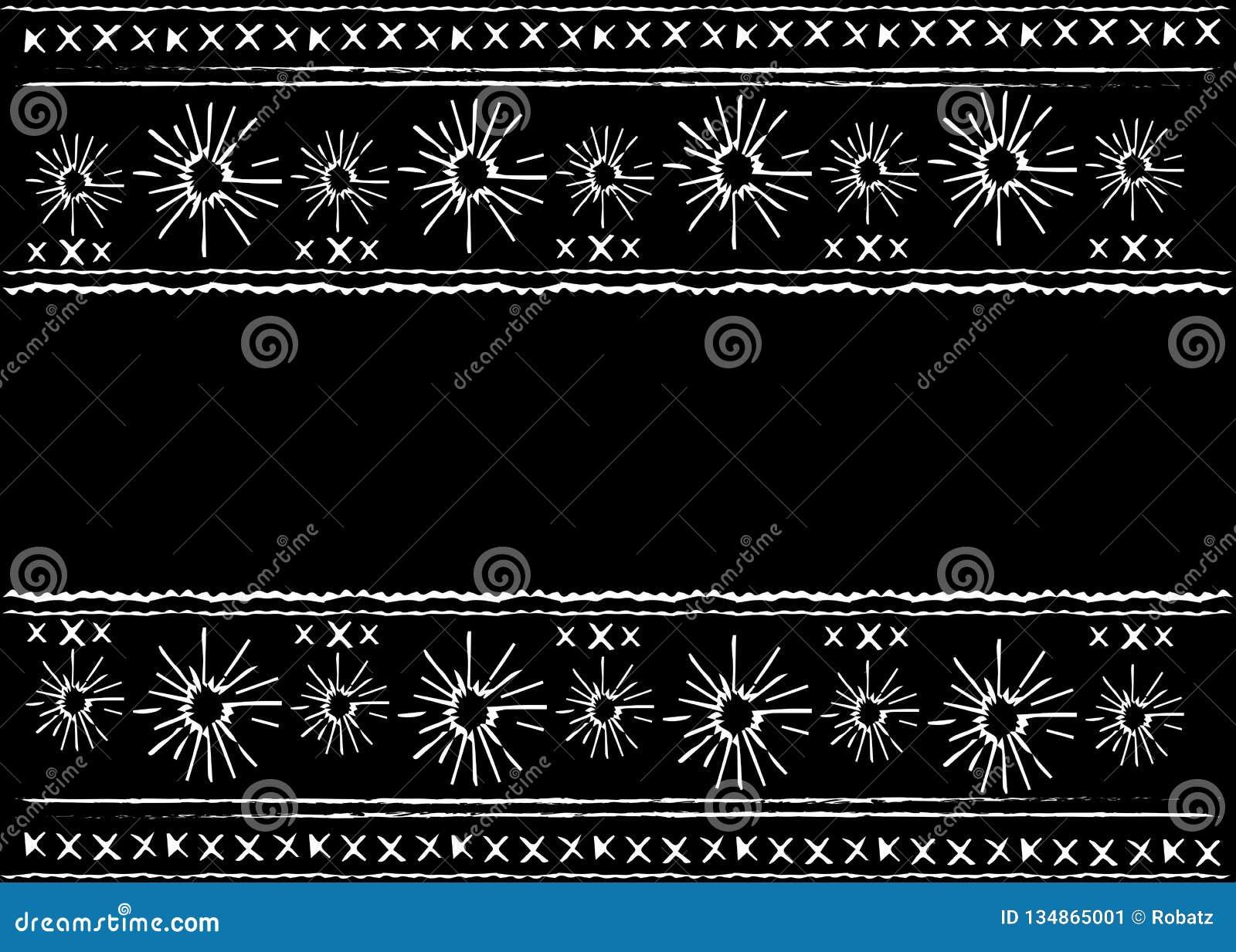 Meksykańska etniczna broderia, Plemiennej sztuki etniczny wzór Ludowa abstrakcjonistyczna geometryczna wielostrzałowa tło tekstur