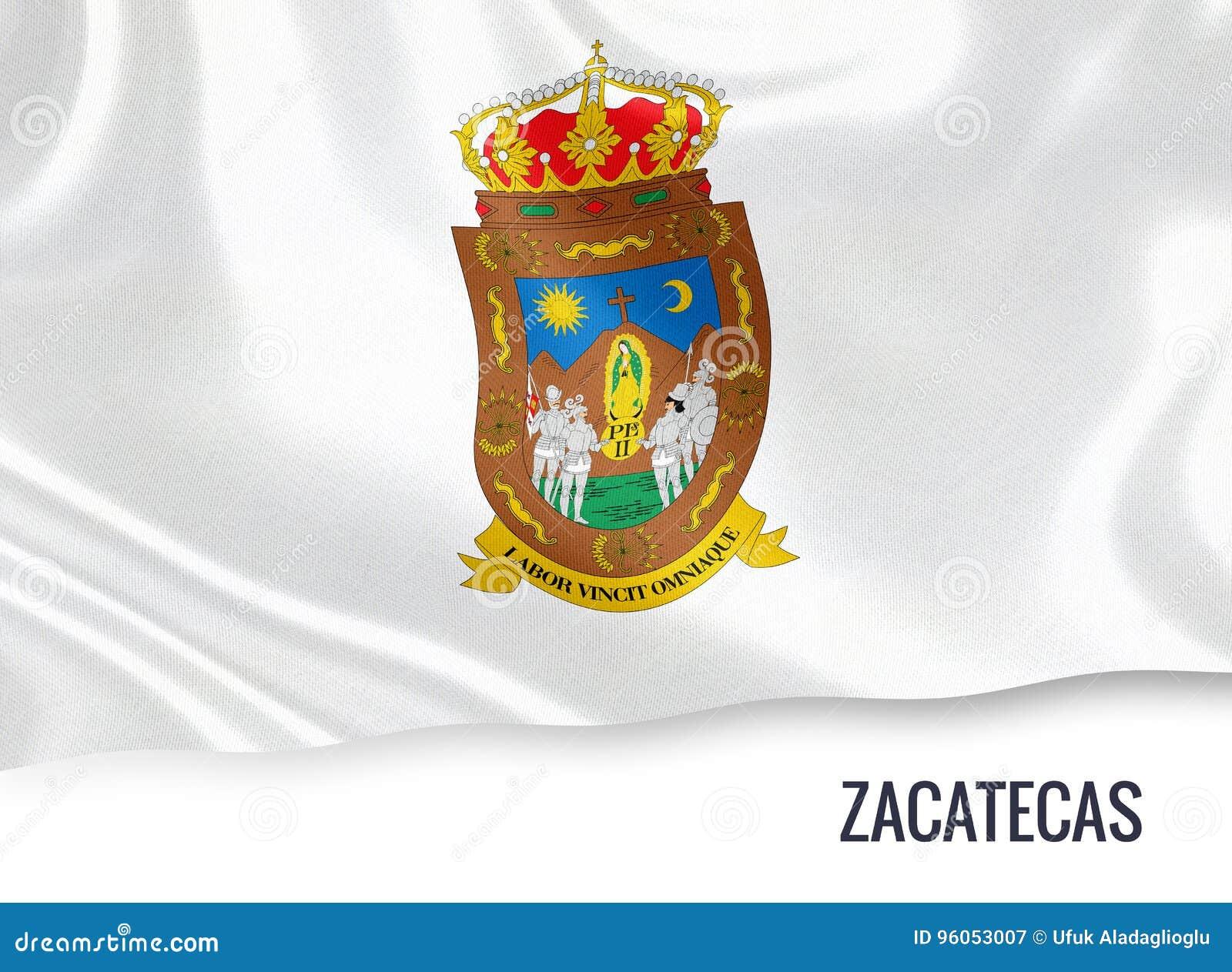 Meksykańska stanu Zacatecas flaga