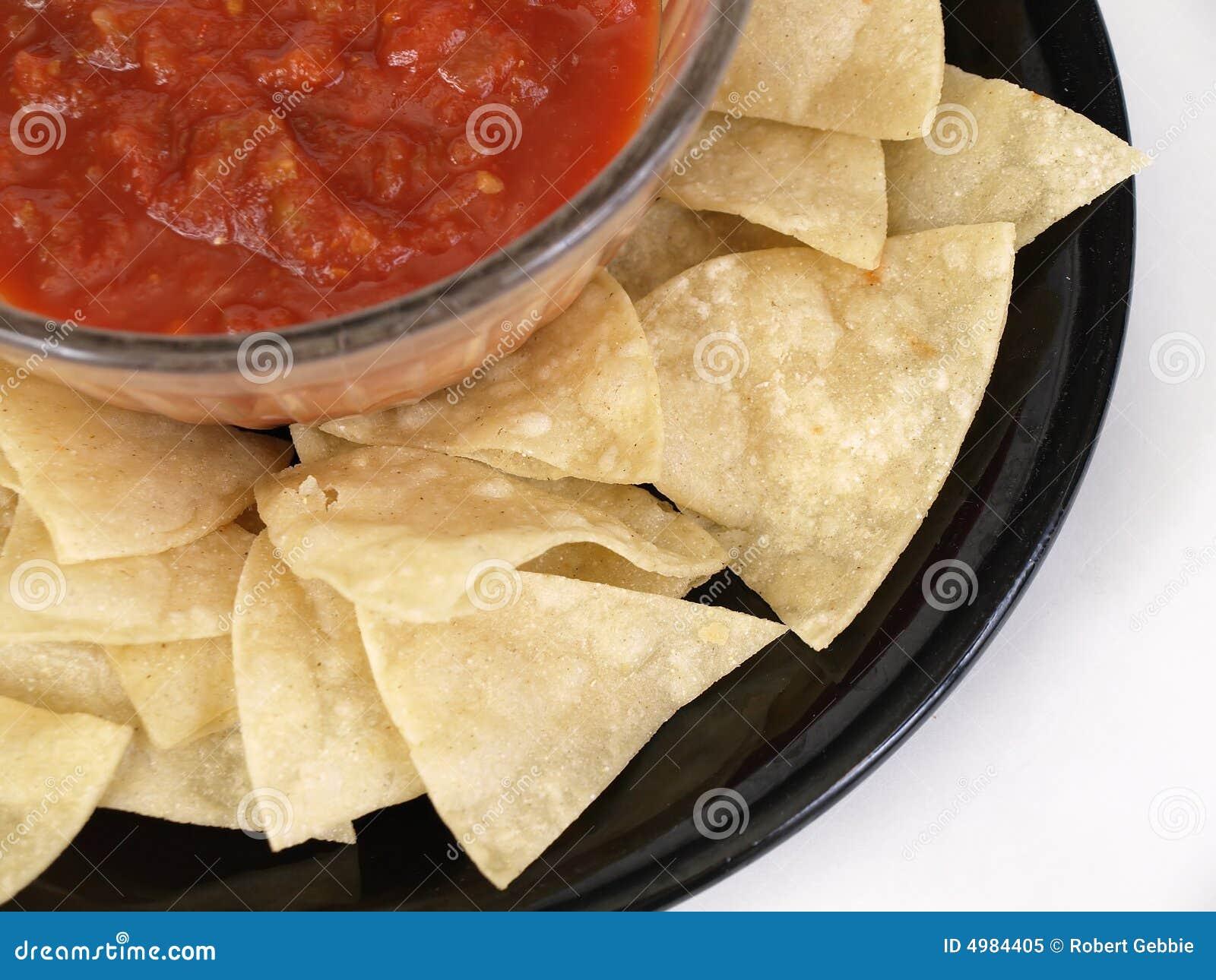 Meksykański półmiska salsa