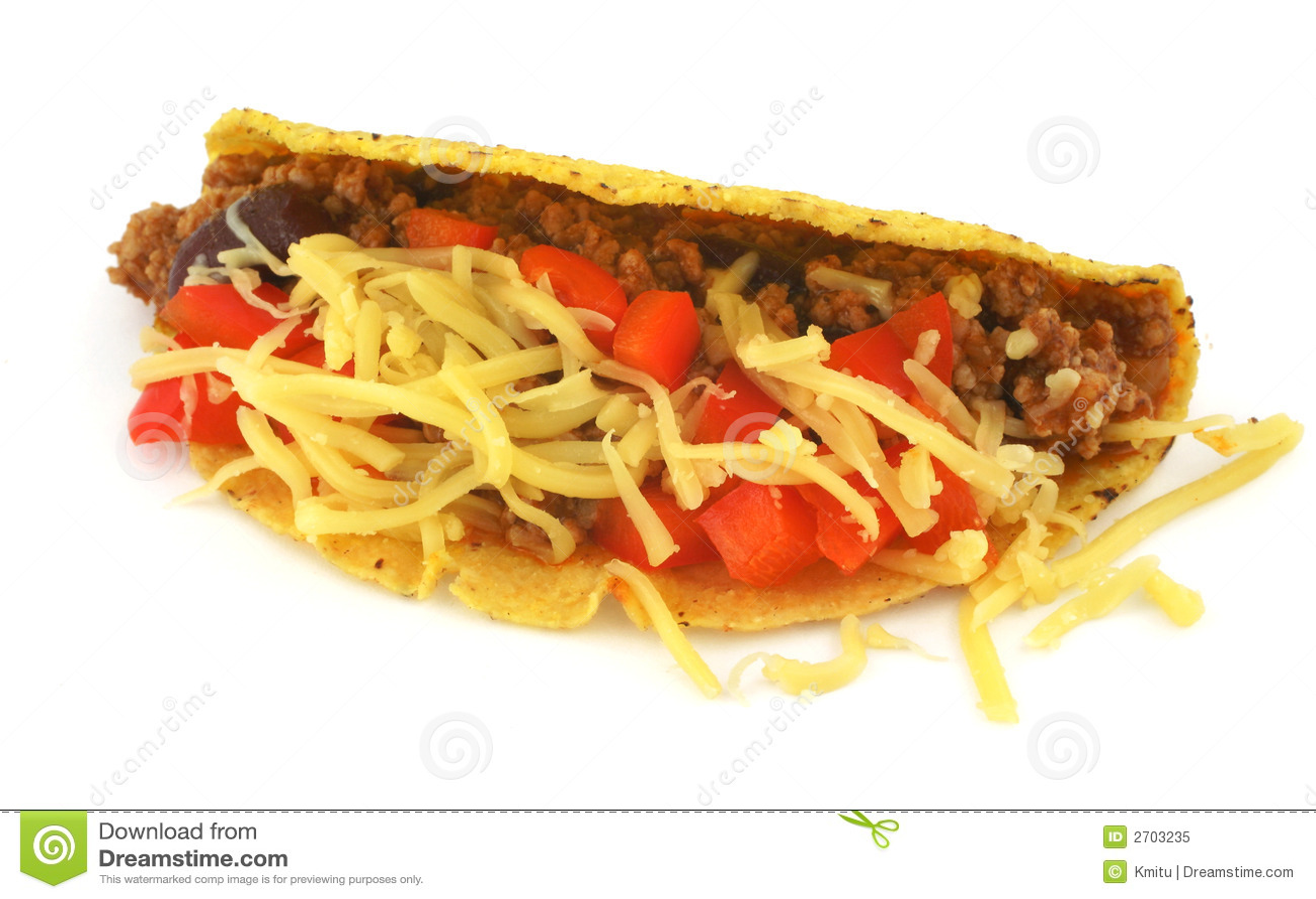 Meksykański taco