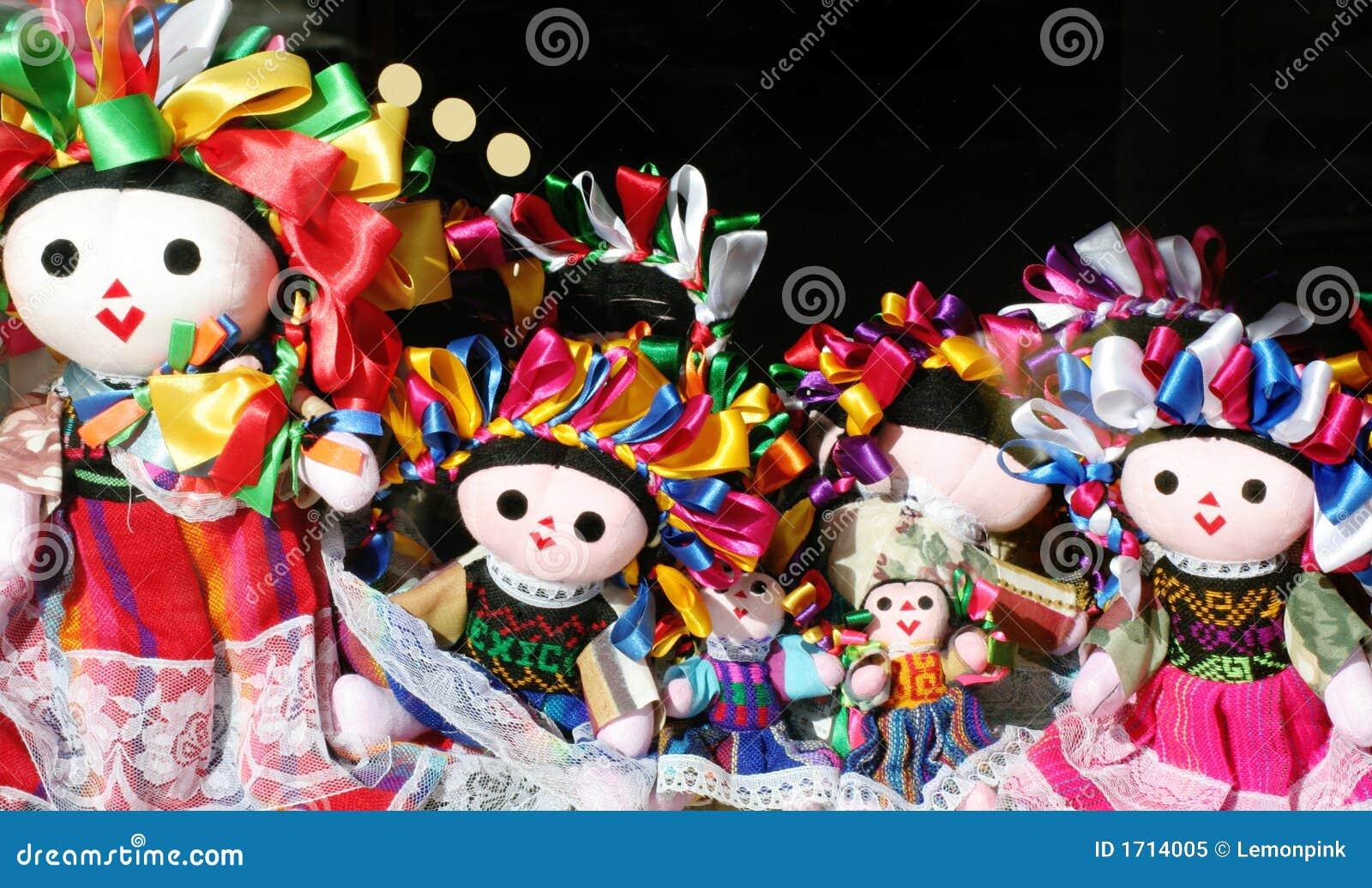 Meksykańskie lalki.