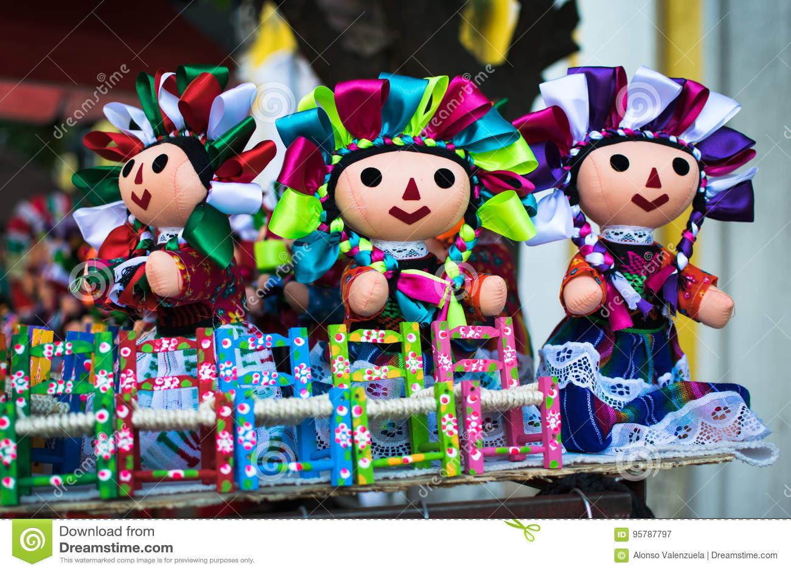 Meksykańskie lalki