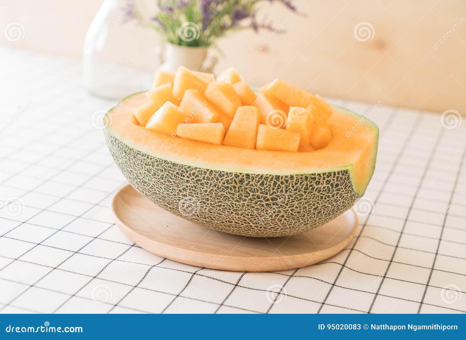 Melão fresco do cantaloupe