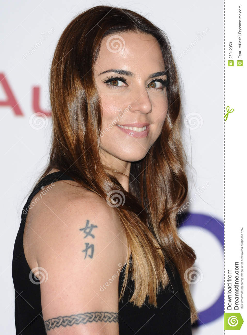Mel C arriving for the Nordoff Robbins Silver Clef Awards 2012, London