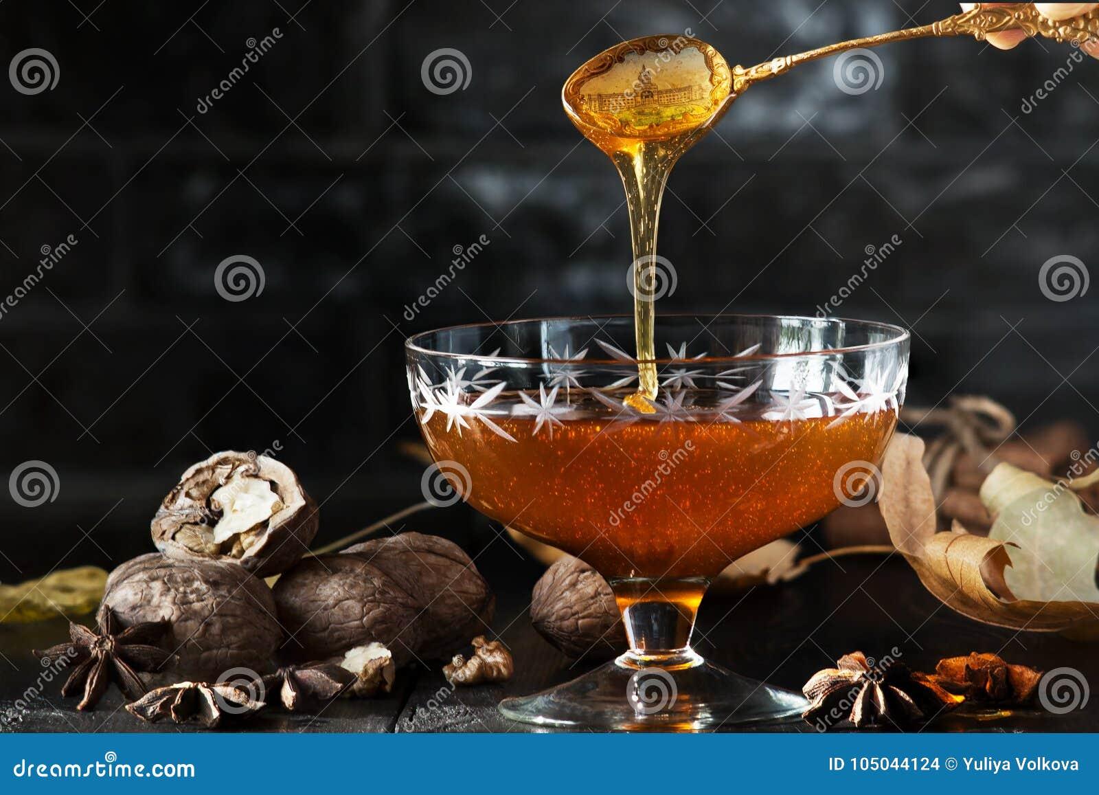 Mel saboroso e saudável delicacy