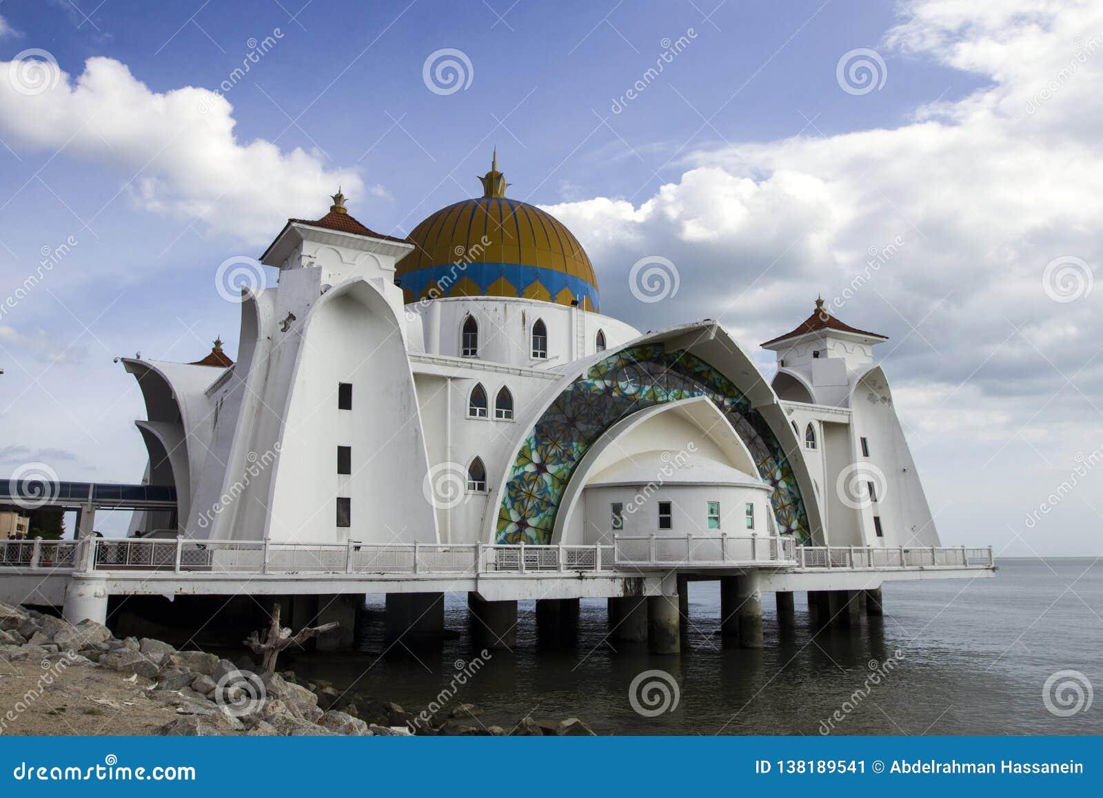 Melaka海峡清真寺