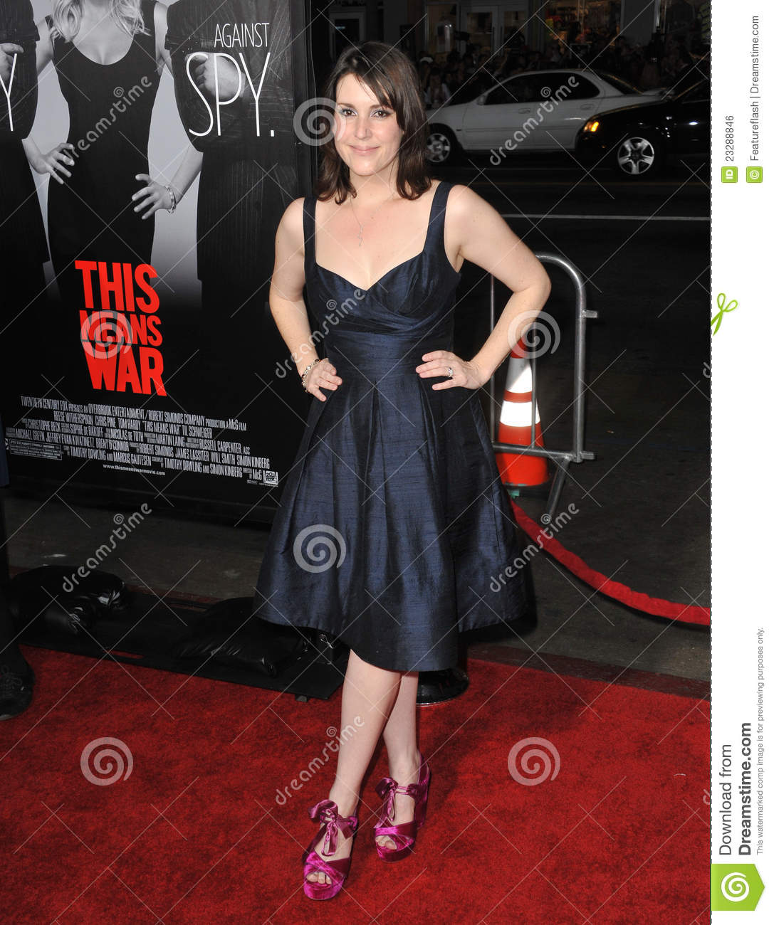 Melanie Lynskey at the Los Angeles premiere of This Means War at ...