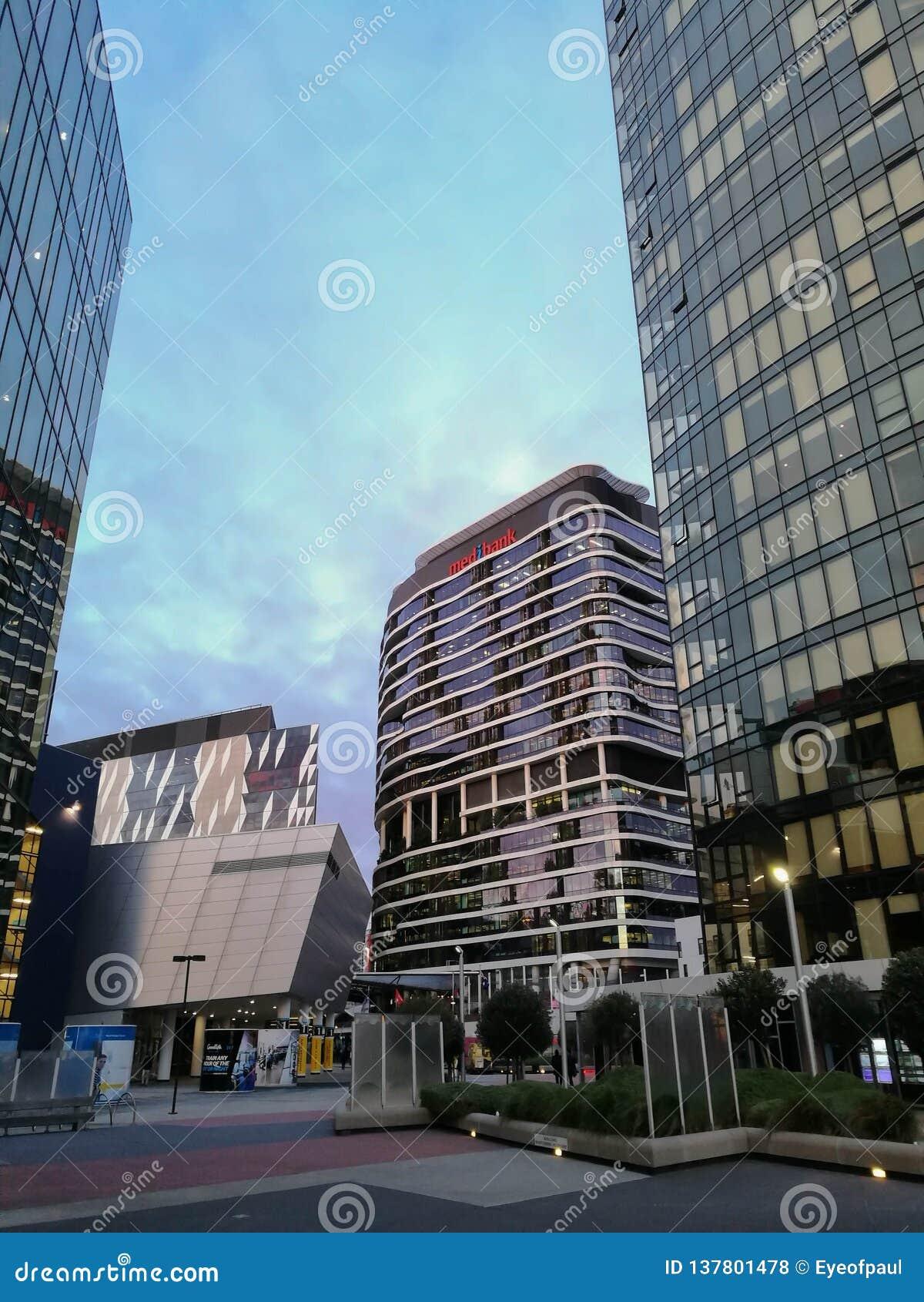 MELBOURNE, AUSTRALIA - JULY 26, 2018: Corporate ...
