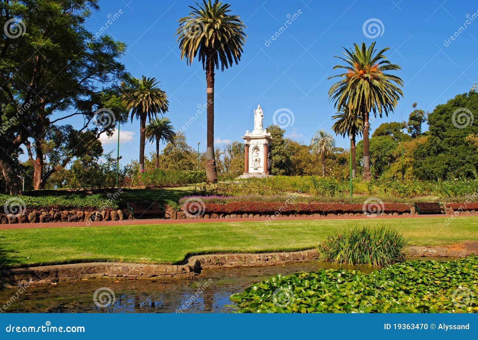 Melbourne-Gärten