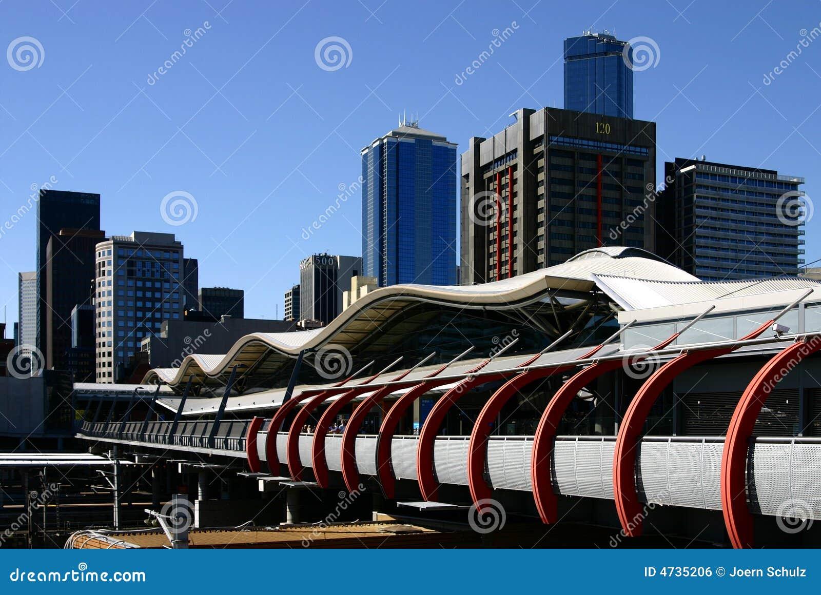Melbourne krzyżowa południowej stacji