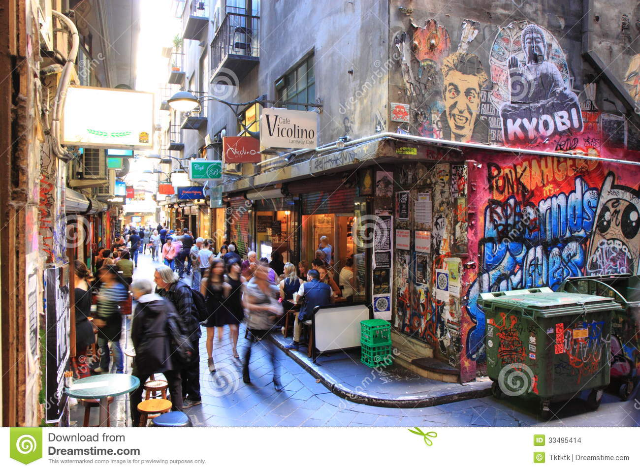 Graffiti art for sale melbourne - Art Australia Centre Dining Famous Graffiti Lane Melbourne