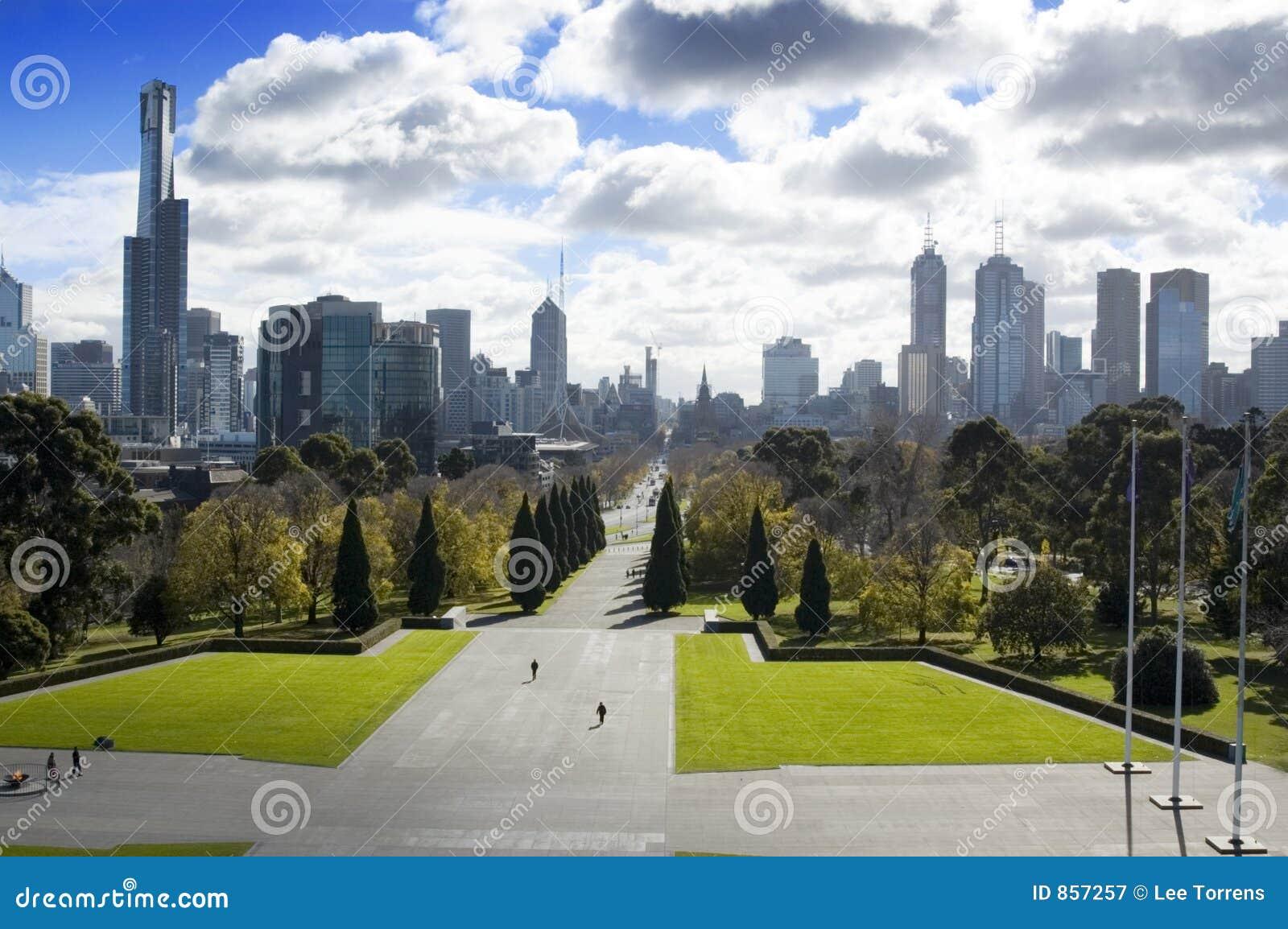 Melbourne park city