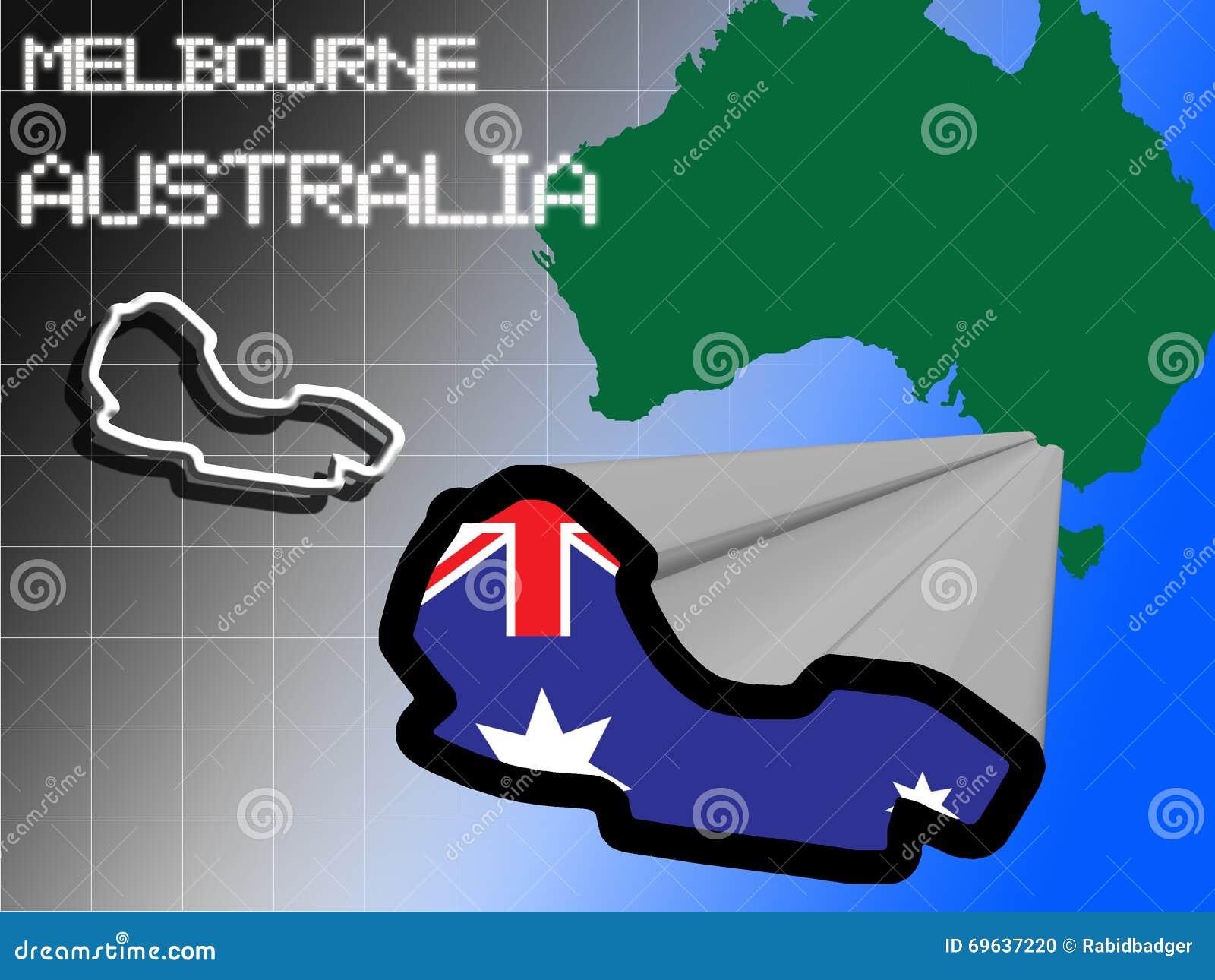 Melbourne Rennstrecke